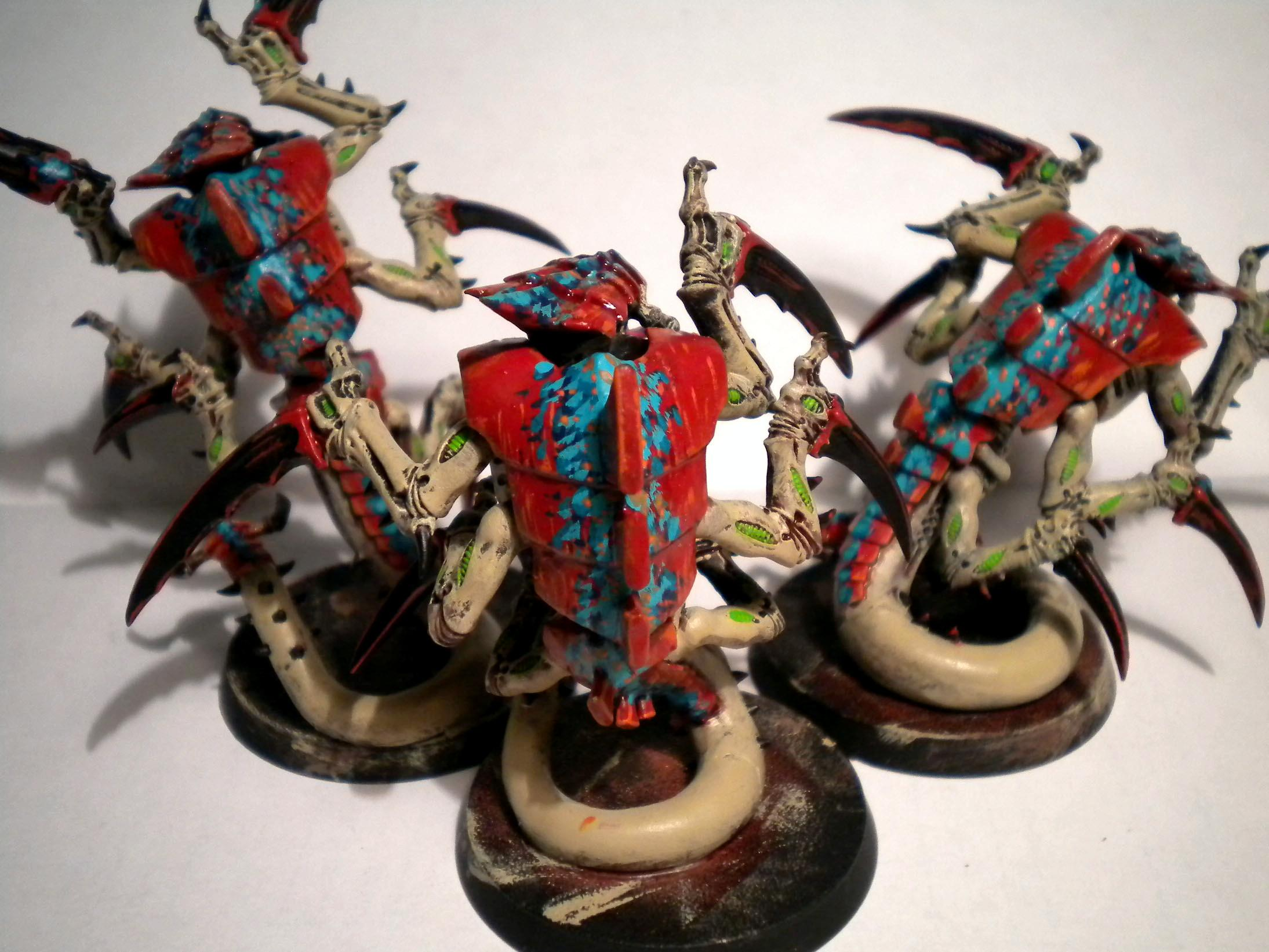 Hive Fleet Kraken, Raveners, Tyranids, Warhammer 40,000, Work In Progress