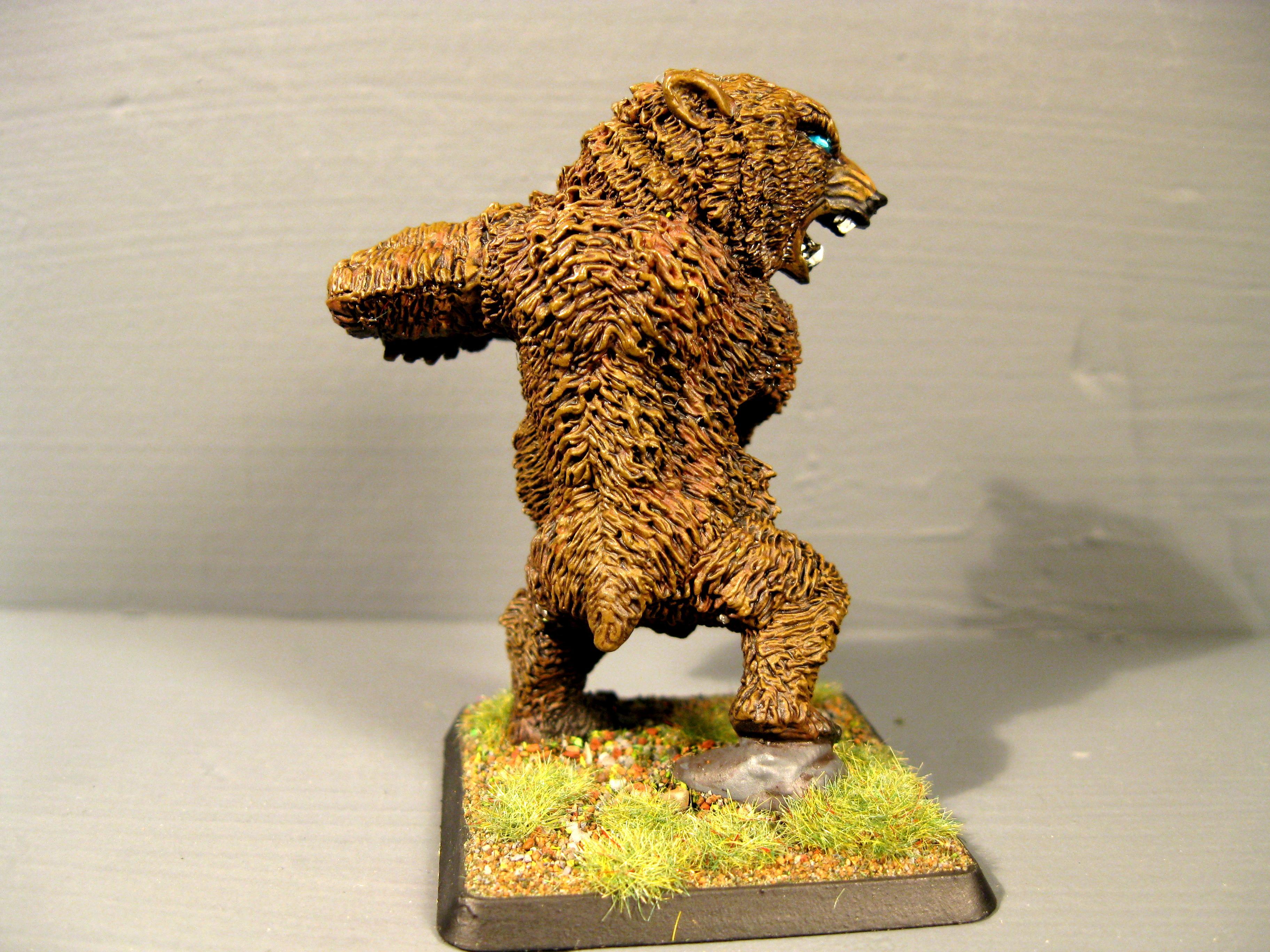 Bear, Pathfinders, Pro Painted, Reaper, Reaper Miniatures, Reaper Minis, Rpg, Warhammer Fantasy
