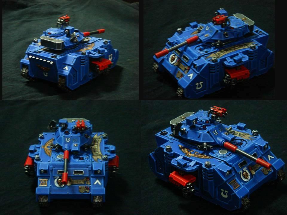 Predator, Retro, Tank, Ultramarines