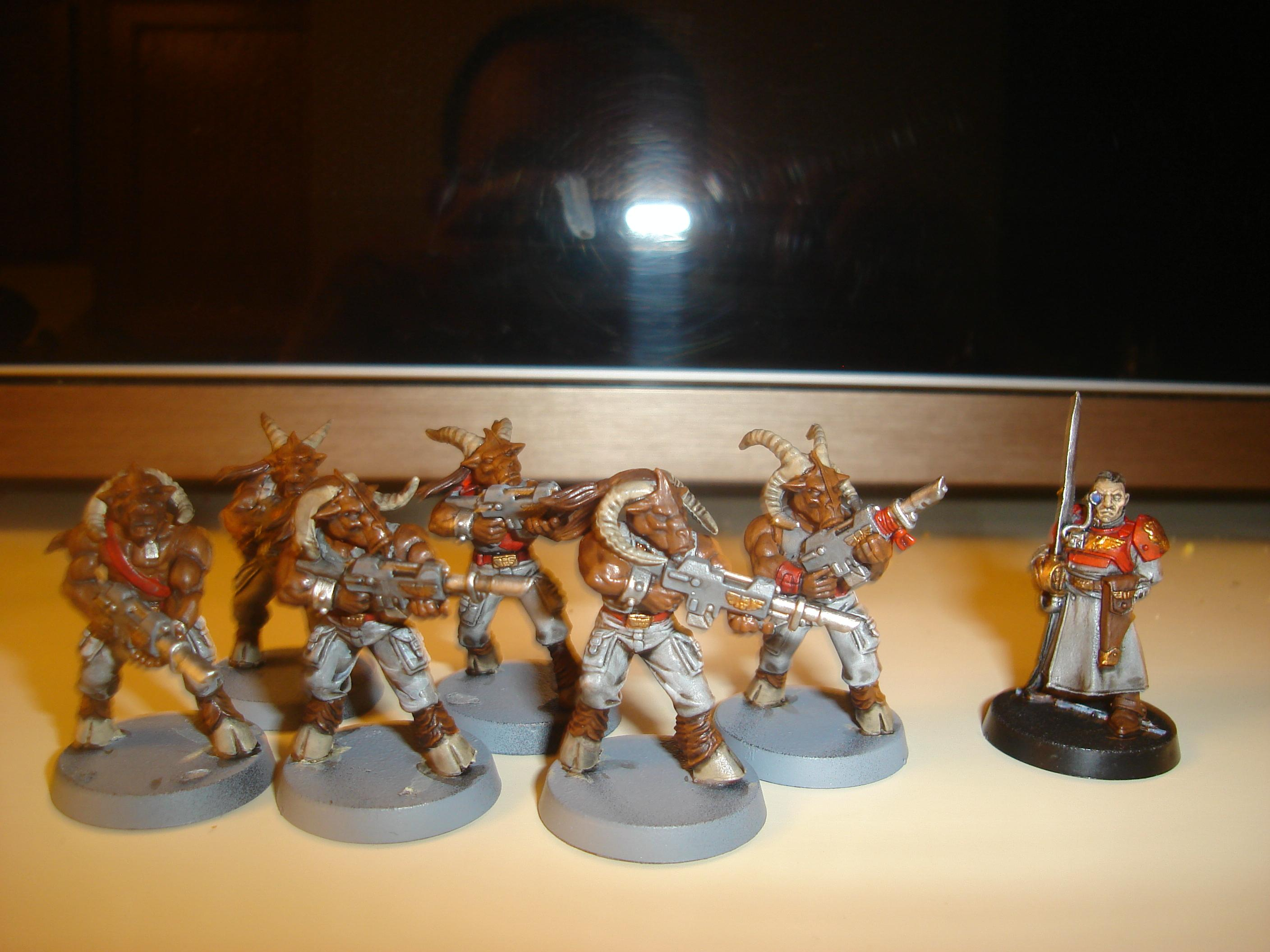 Beastmen, Conversion, Imperial Guard, Rogue Trader