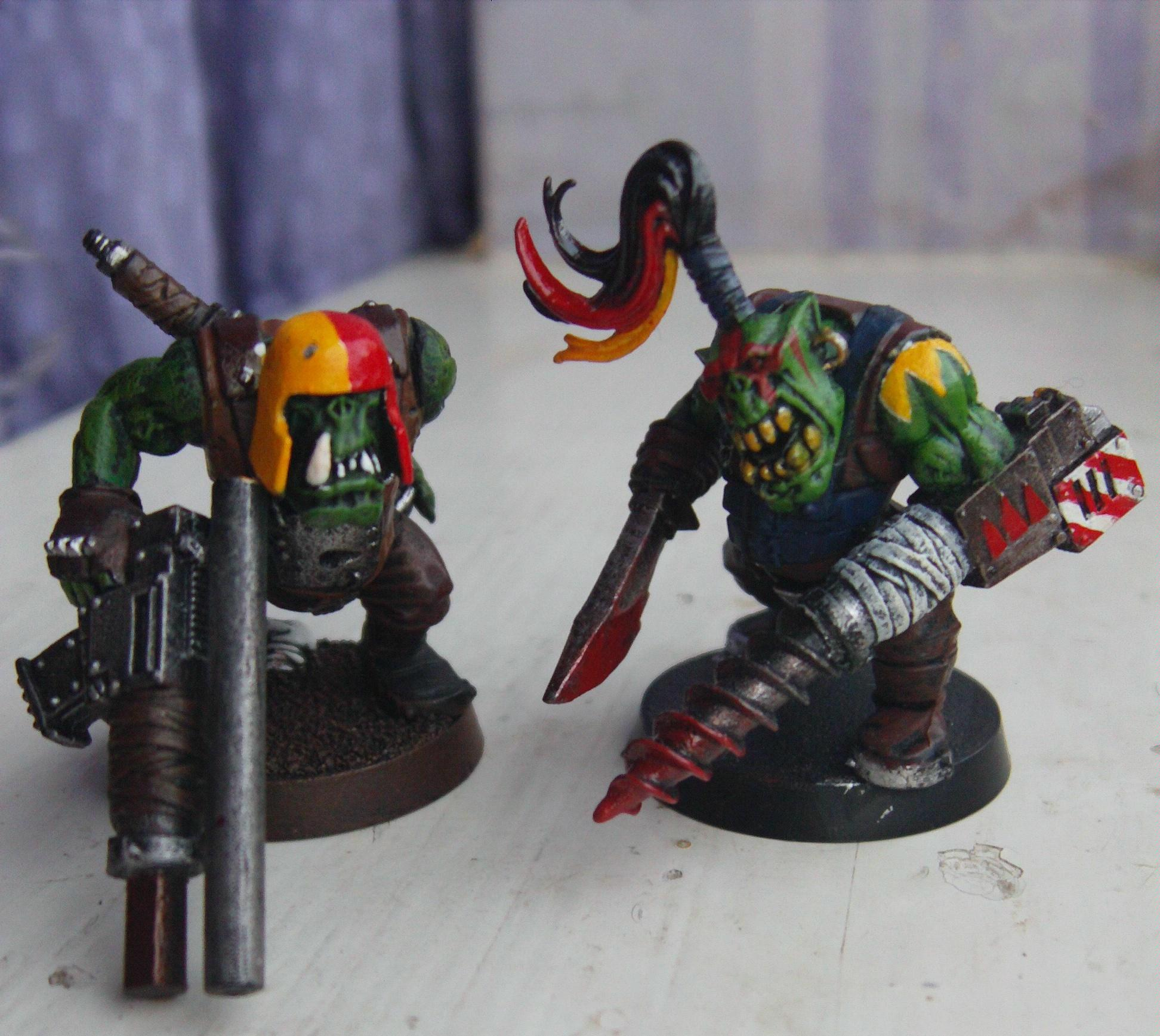 Conversion, Drill, Orks, Rifle, Snipers