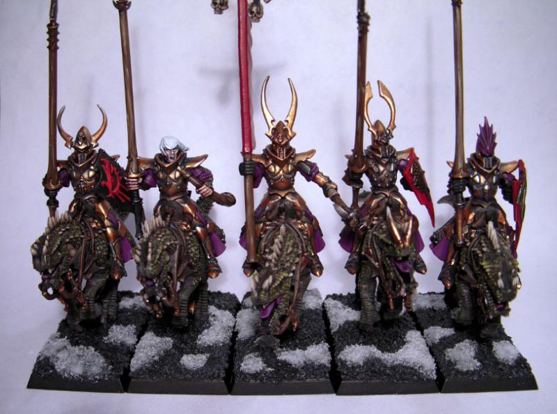 Cold Ones, Dark Elves