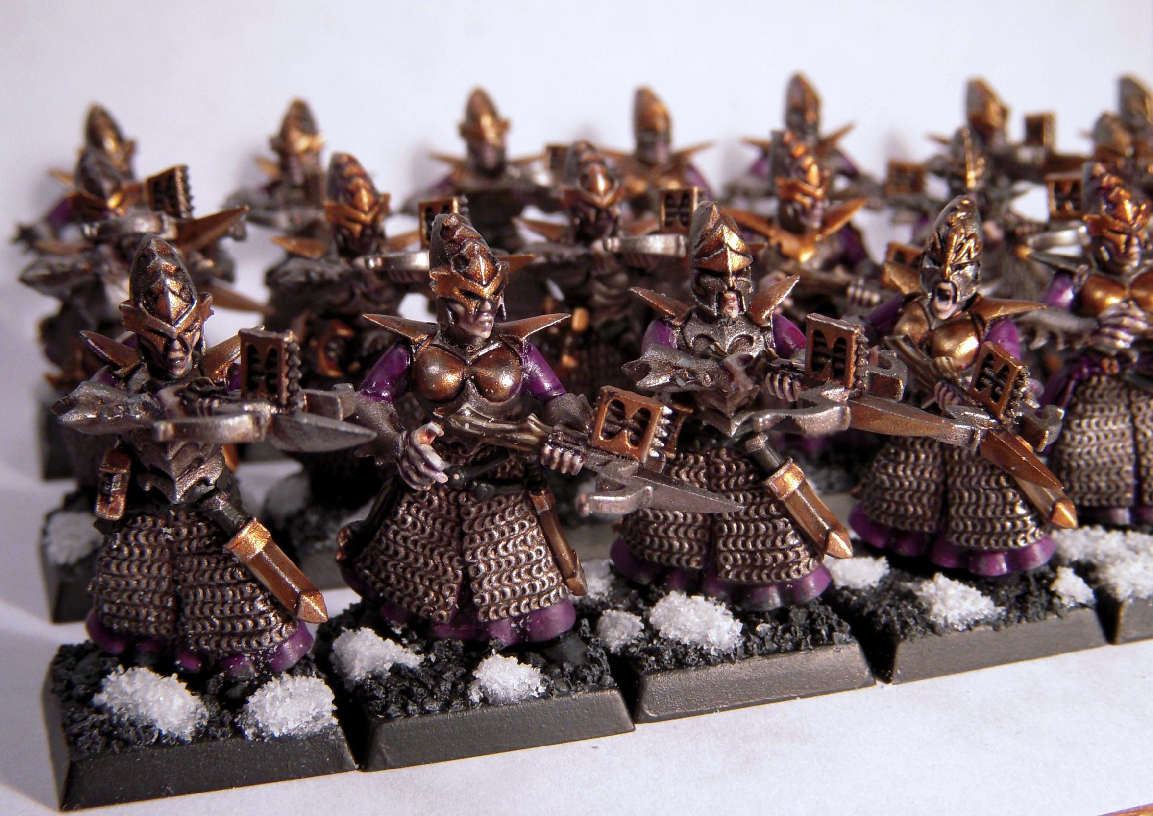 Crossbowmen, Dark Elves, De, Warhammer Fantasy