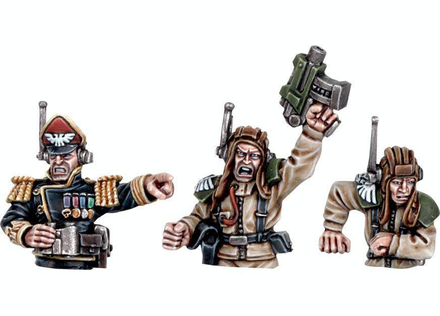 Commanders, Imperial Guard, Tank