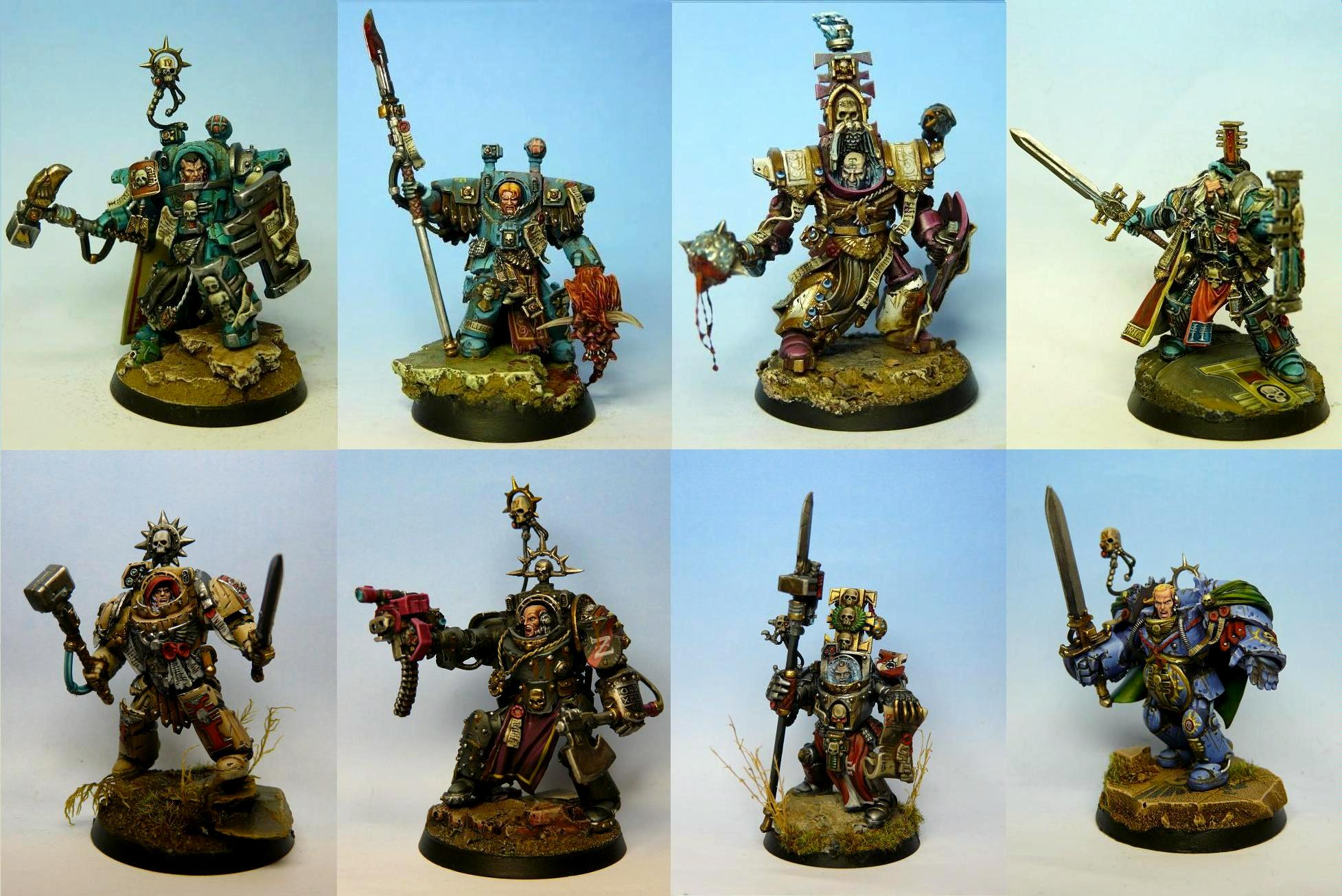 Conversion, Inquisition, Inquisitor, Inquisitors, Ordo Malleus, Raff, Terminator Armor, Warhammer 40,000