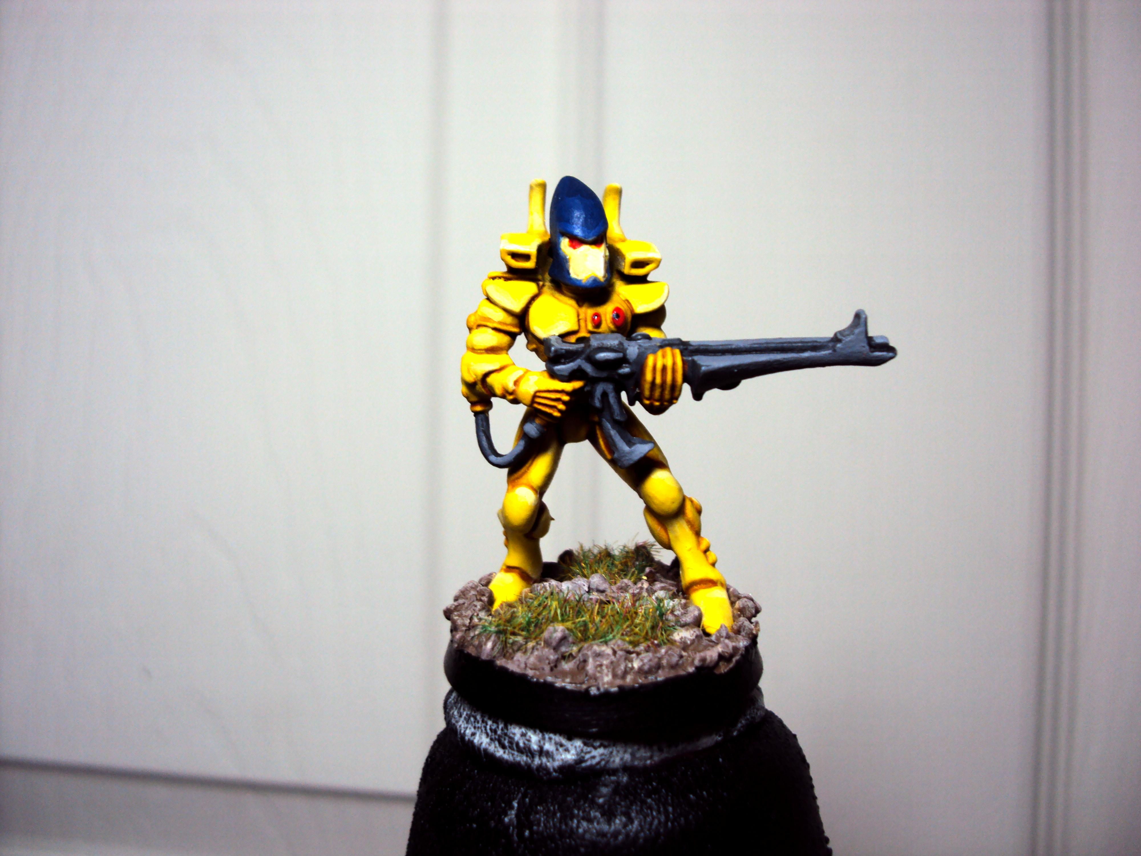 Eldar, Guardians, Shuriken, Yellow