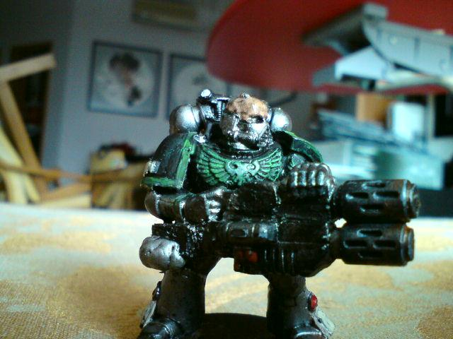 custom multi-melta, from two meltas, and and ork pistol. and green stuff
