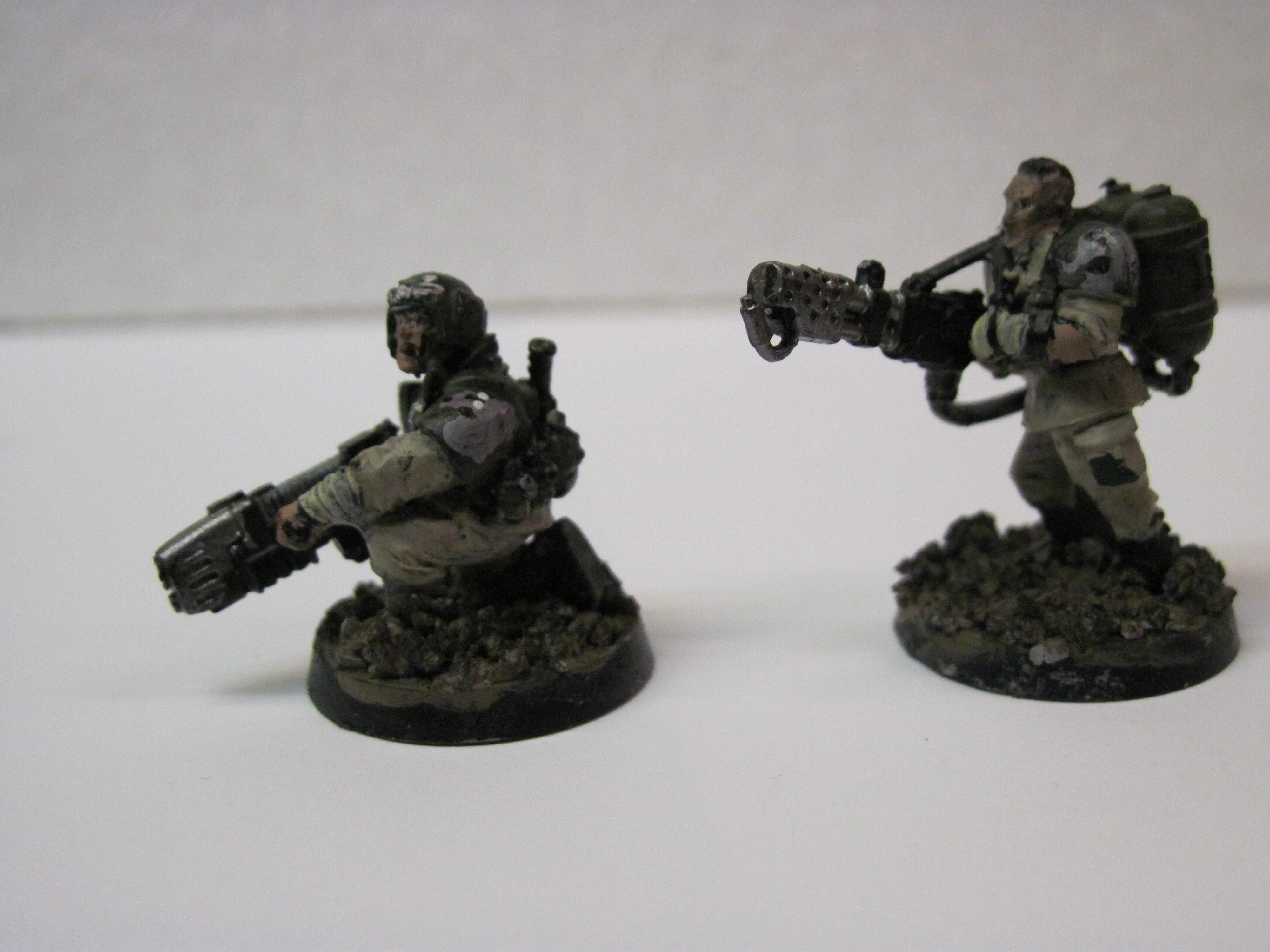 Regimental Medic and grenade launcher
