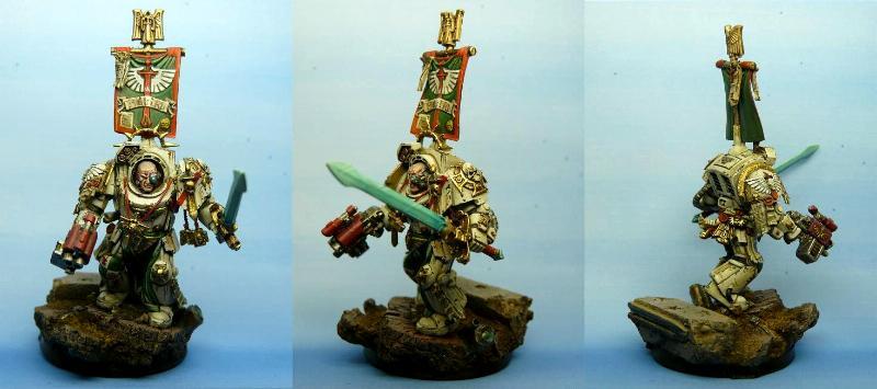 Belial, Dark Angels, Deathwing, Space Marines, Terminator Armor, Warhammer 40,000