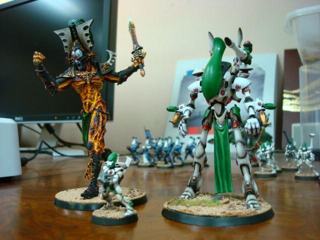 Avatar, Biel-tan, Eldar, Forge World, Khaine, Wraithlord