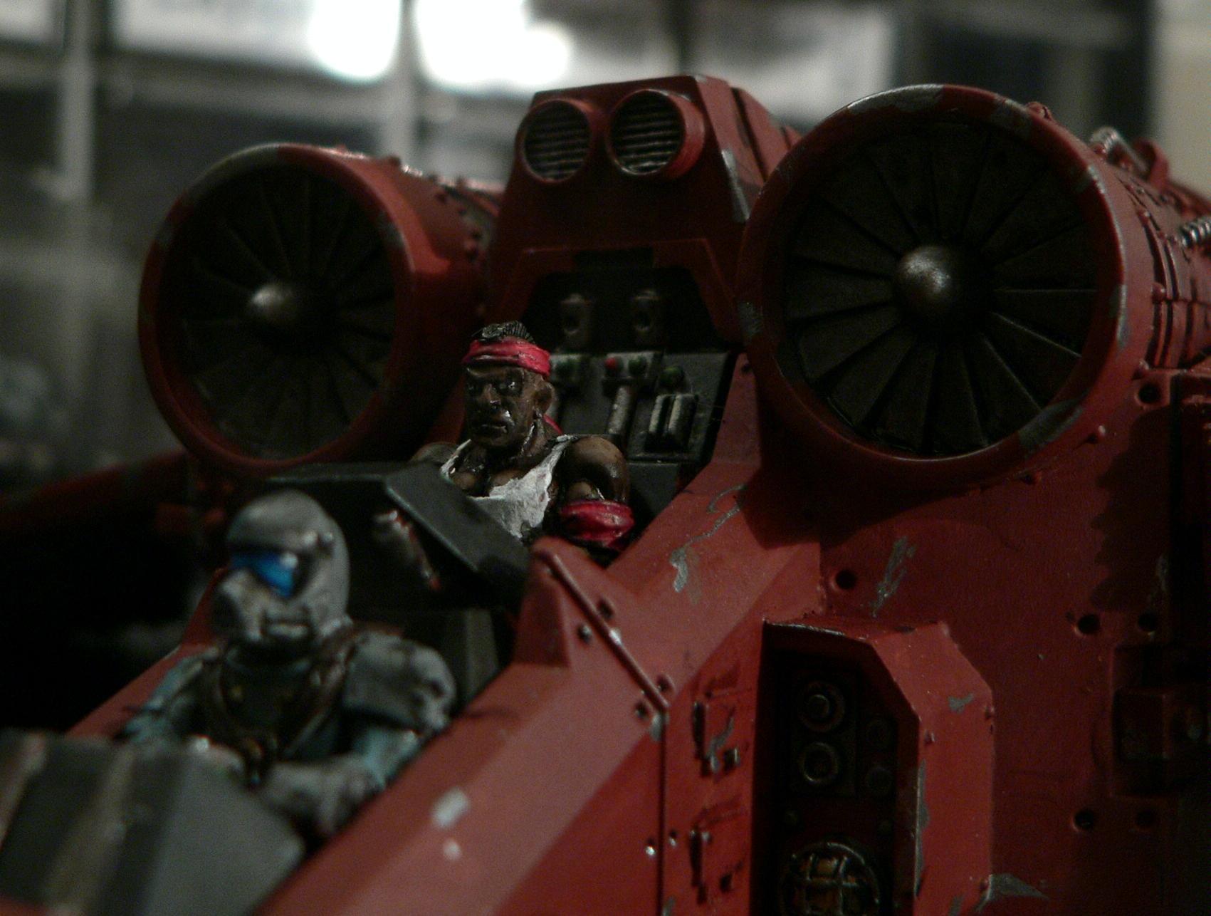 Catachan, Cockpit, Imperial Guard, Mars, Pilots, Valkyrie, Vendetta, Warhammer 40,000