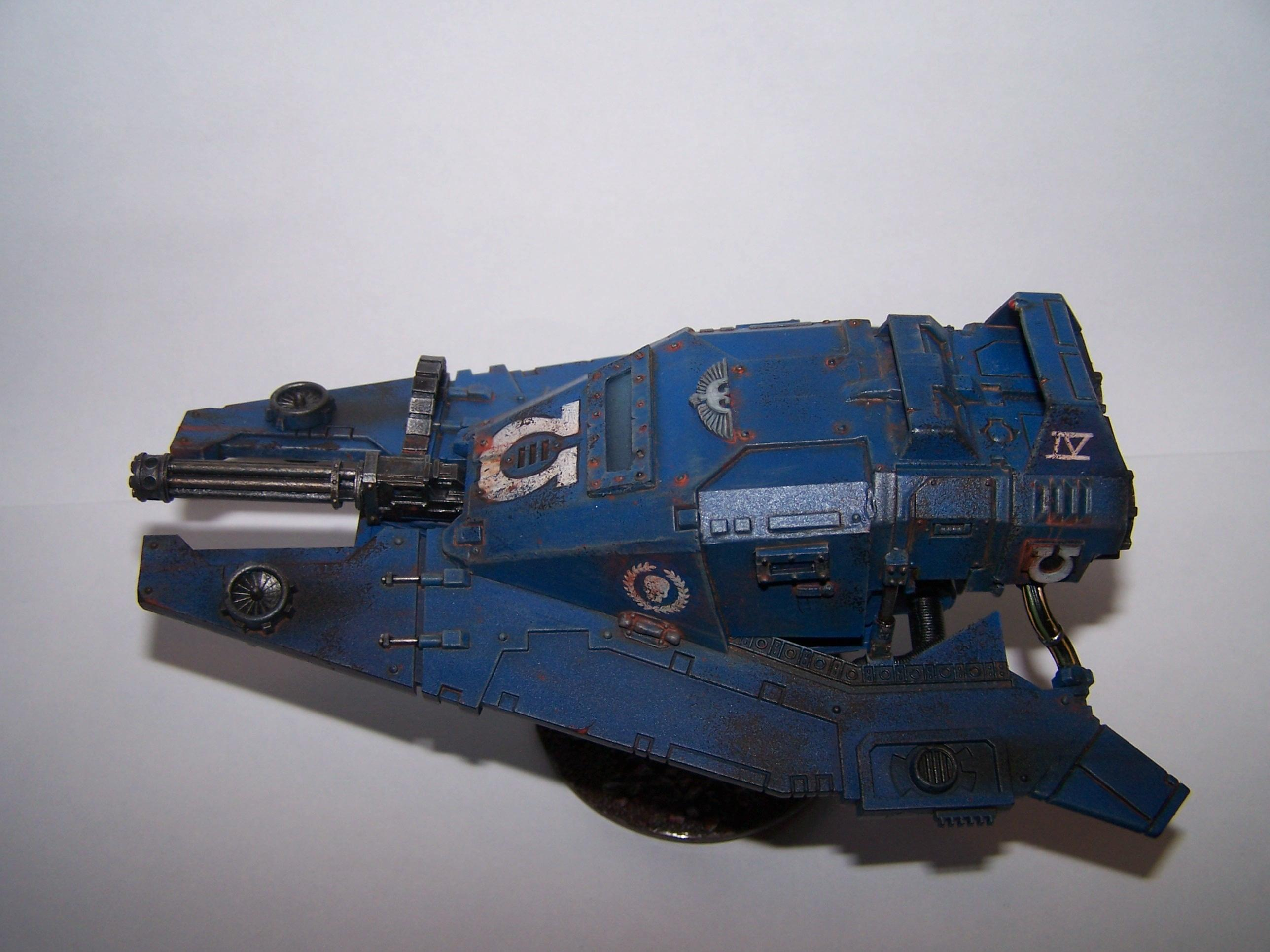 Conversion, Imperial Armor, Land Speeder, Space Marines, Ultra Marines, Ultramarines, Warhammer 40,000