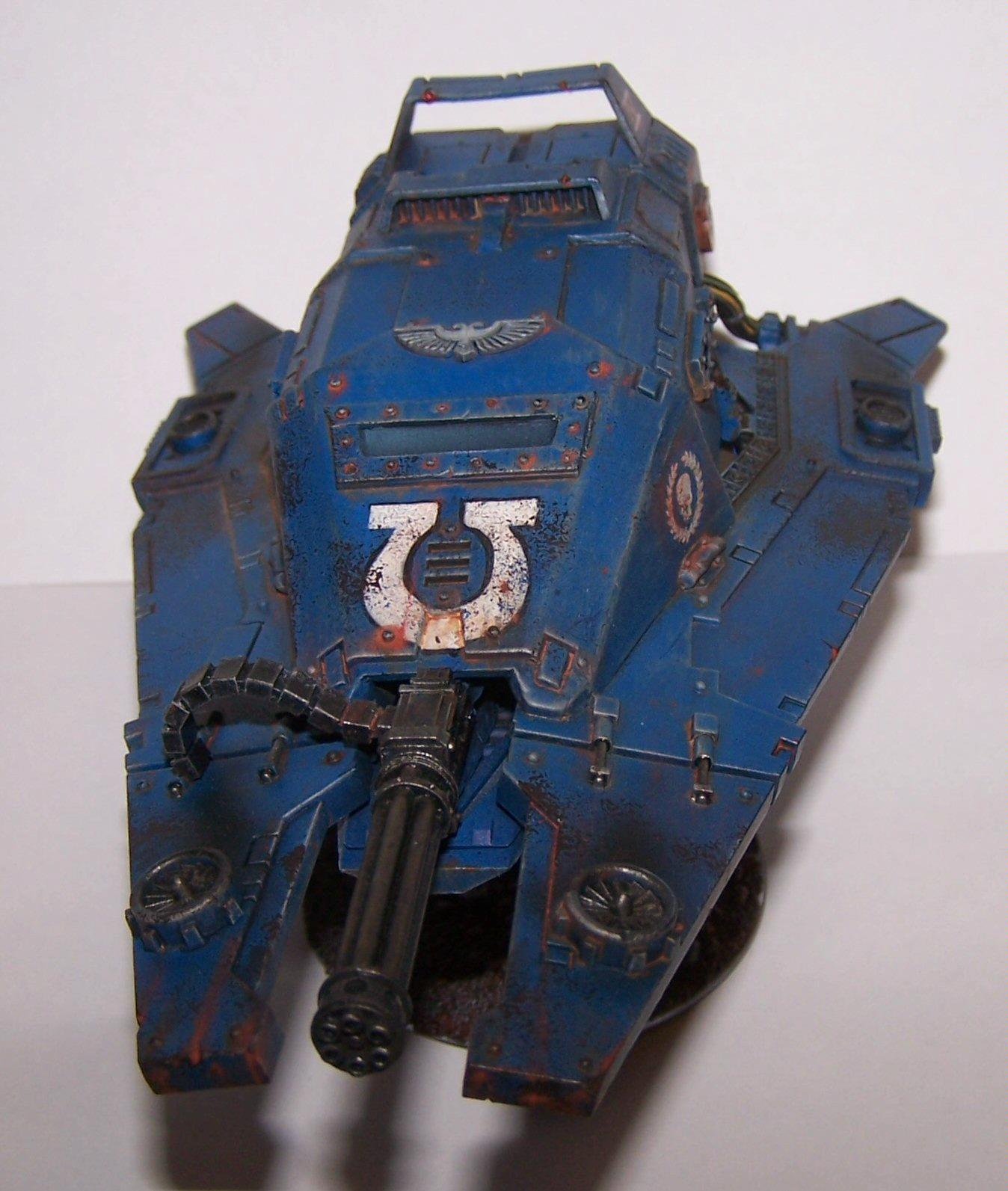Conversion, Fast Attack, Land Speeder, Space Marines, Ultra Marines