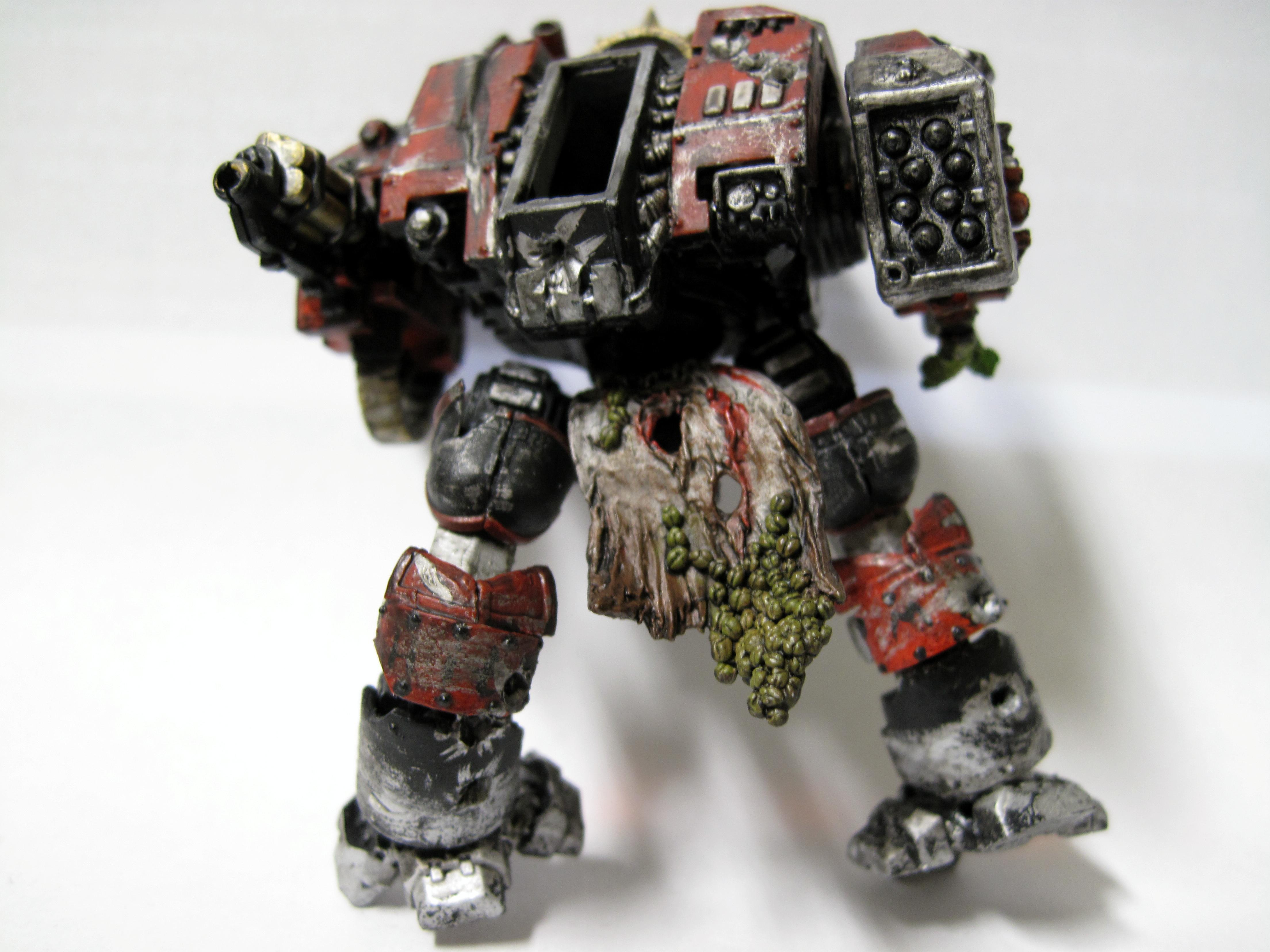 Dreadnought, Space Marines, Weathered