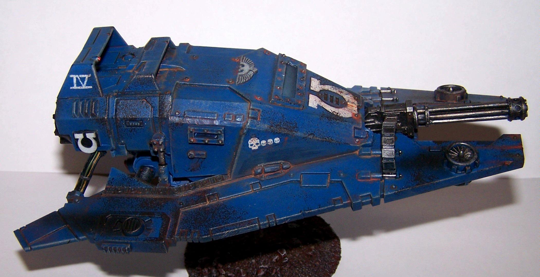 Land Speeder, Land Speeder Tempest, Scratch Build, Space Marines, Ultramarines, Warhammer 40,000