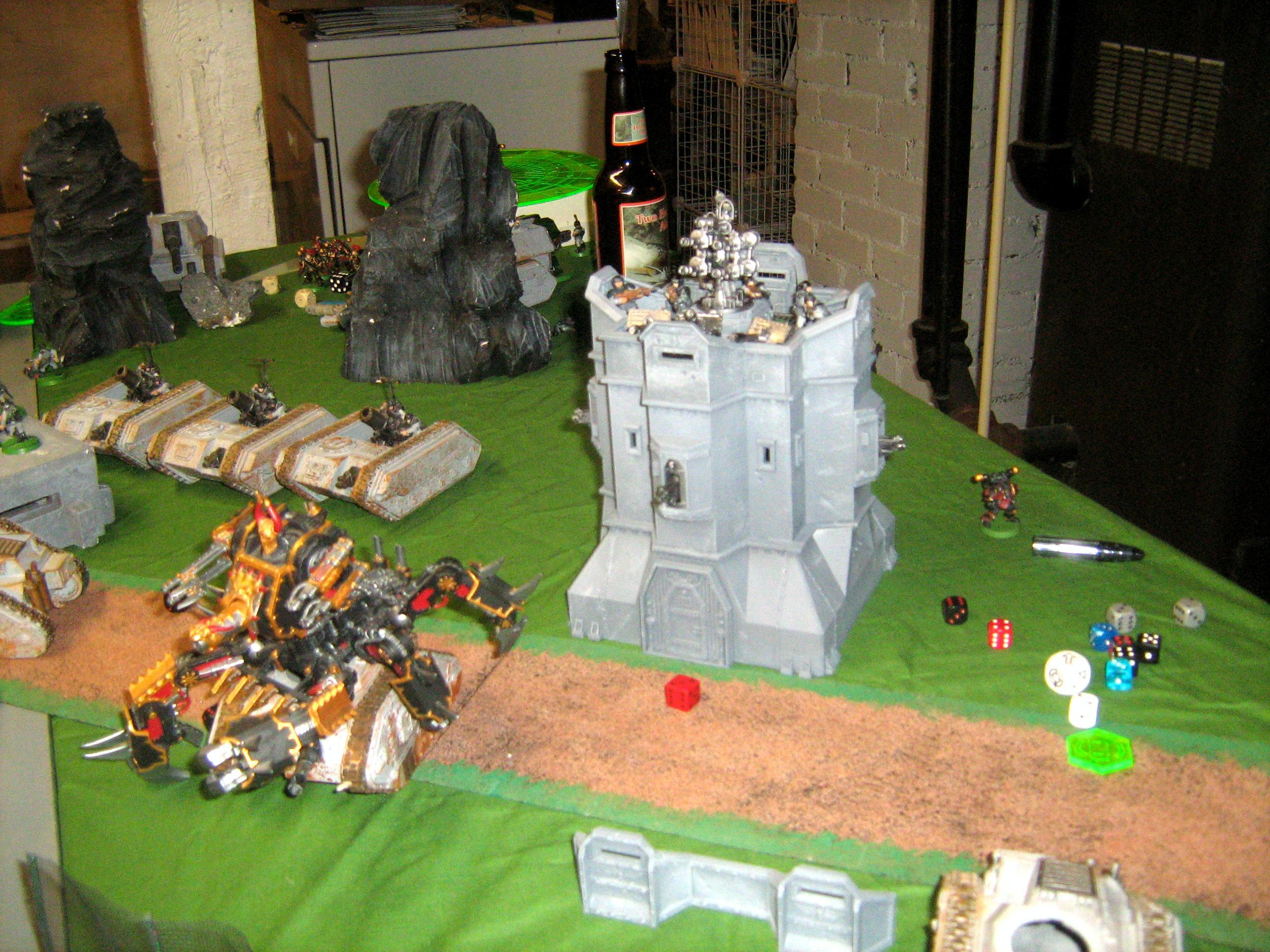 Bastion, Battle, Defiler, Terrain