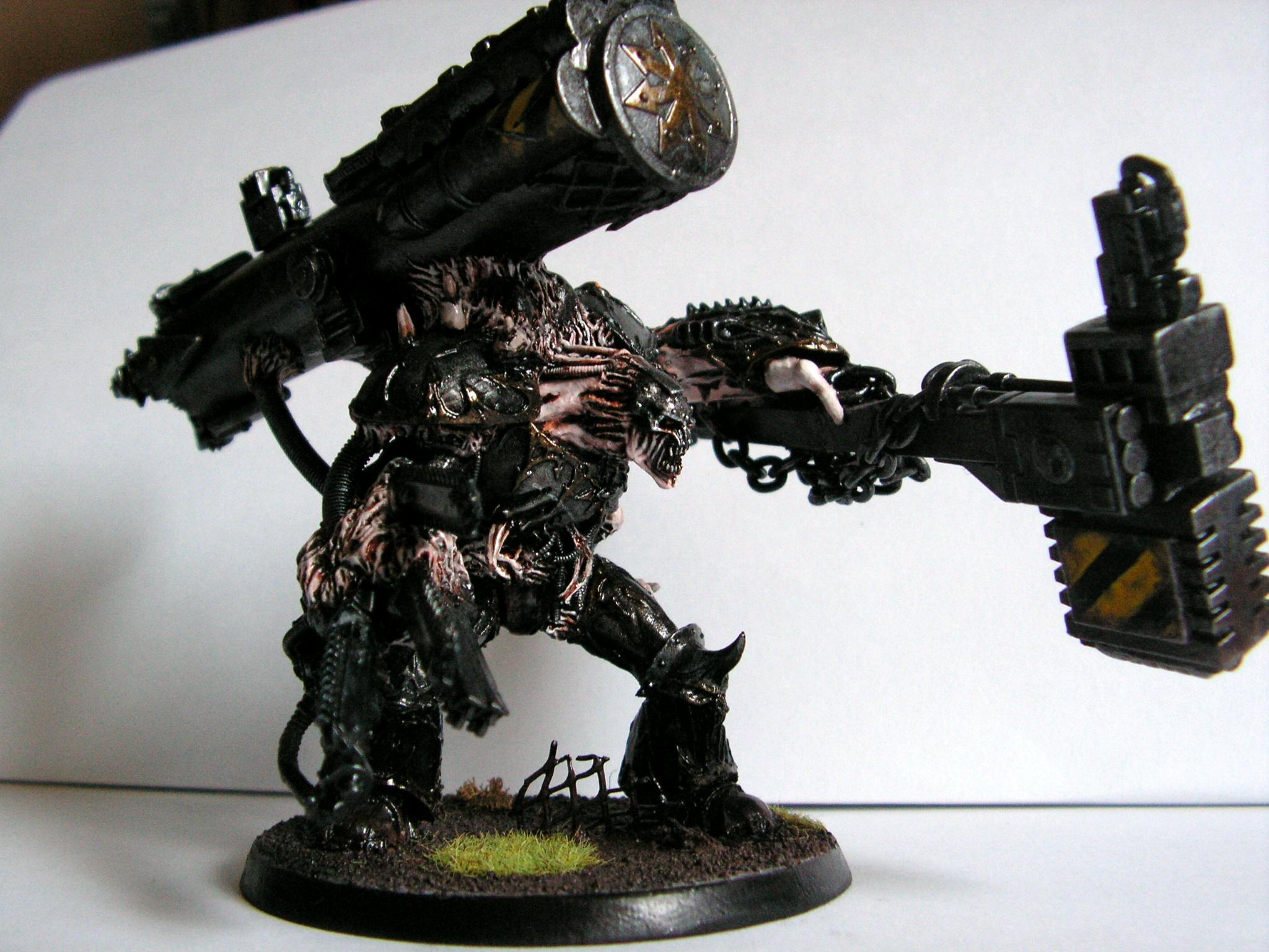 Chaos, Daemon Prince, Daemon Prince Iron Warriors, Daemons, Iron Warriors, Over The Top, Prince