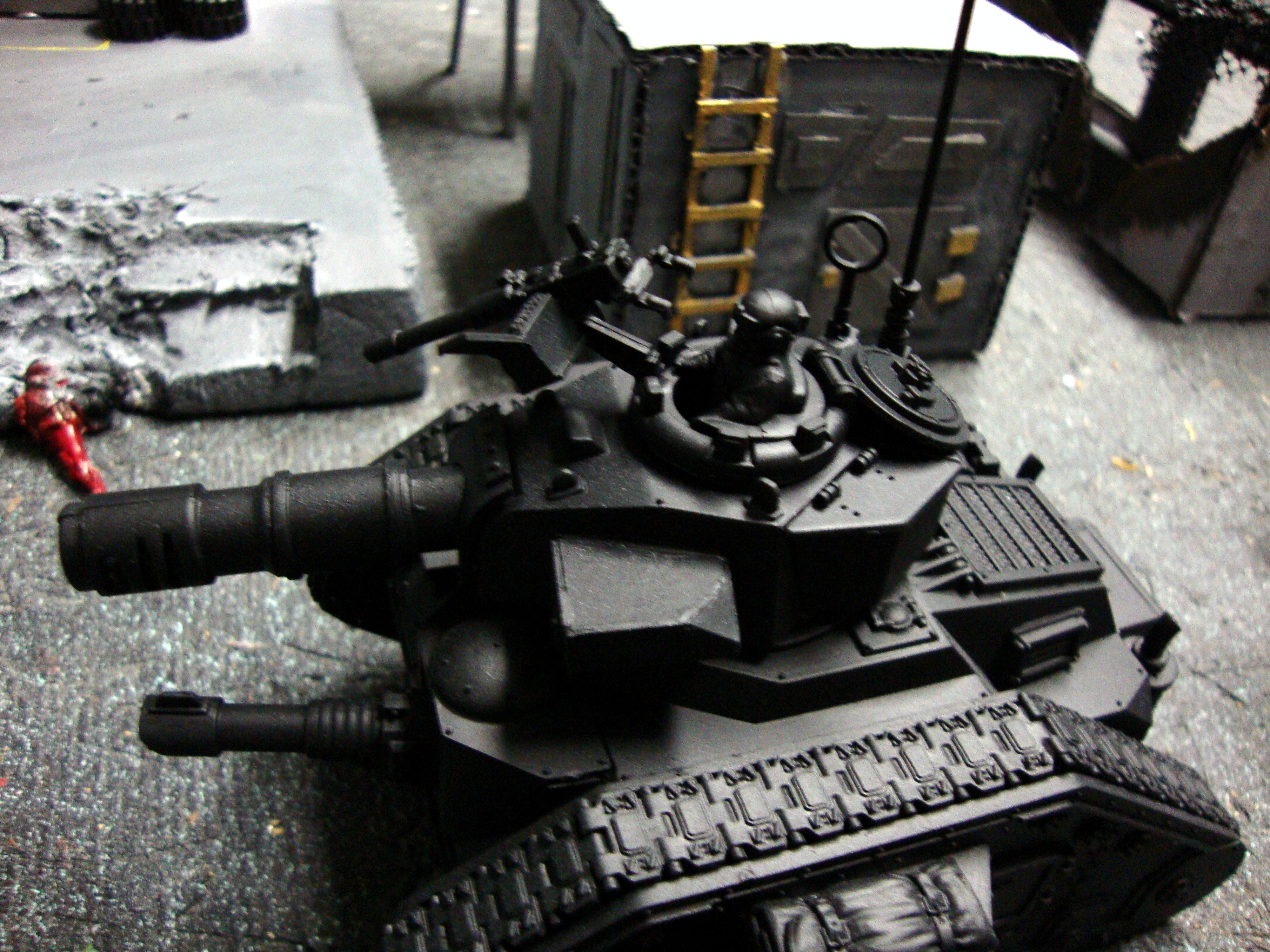 Leman Russ, Tank, Work In Progress