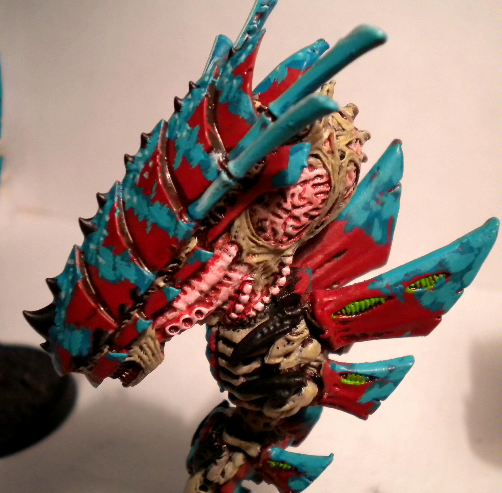Hive Fleet Kraken, Painting Challenge, Tyranids, Warhammer 40,000, Work In Progress
