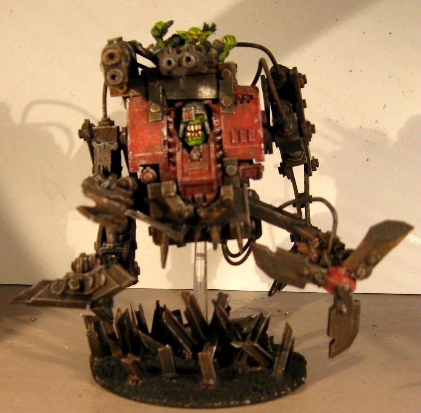 Conversion, Deffkopta, Dreadnought, Orks