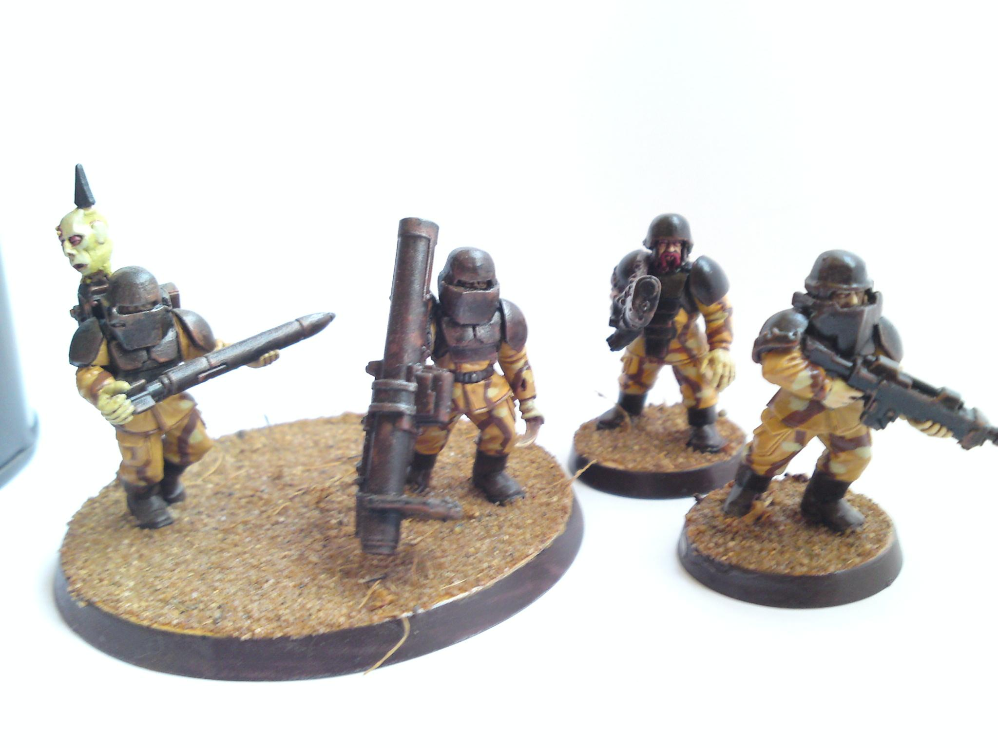 Chaos, Conversion, Facial Hair, Imperial Guard, Lost And The Damned, Missile Launcher, Traitor Guard, Warhammer 40,000