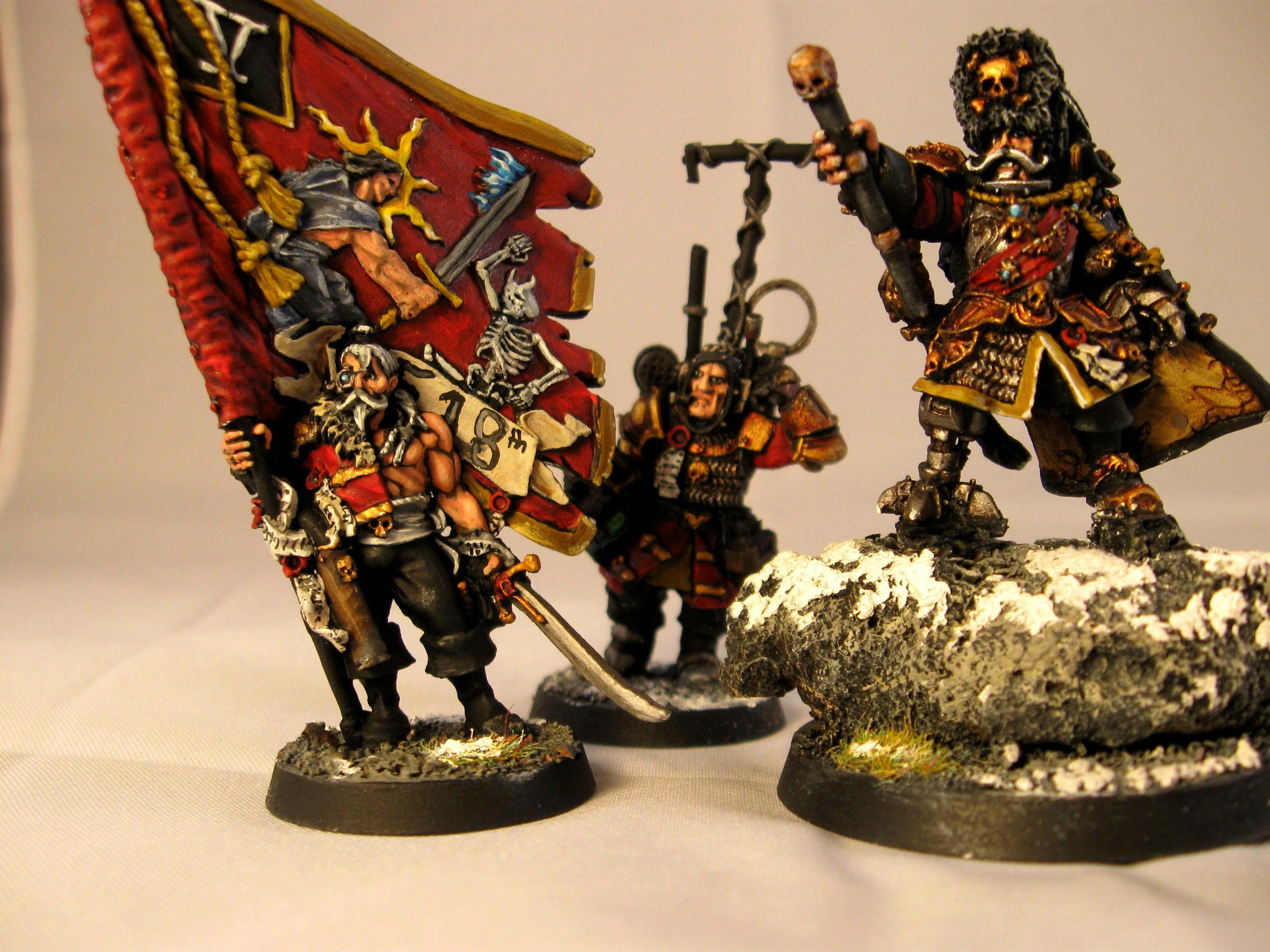 Red, Snow, Detail of Vostroyan Command