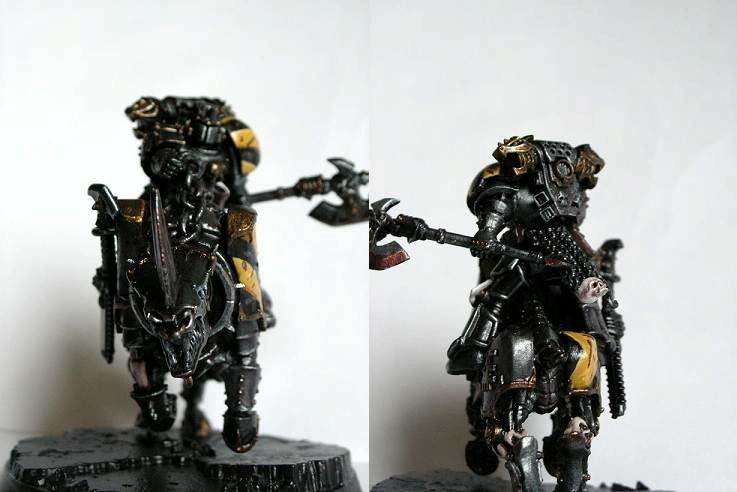 Chaos, Iron Warriors, Juggernaut, Khorne, Lord