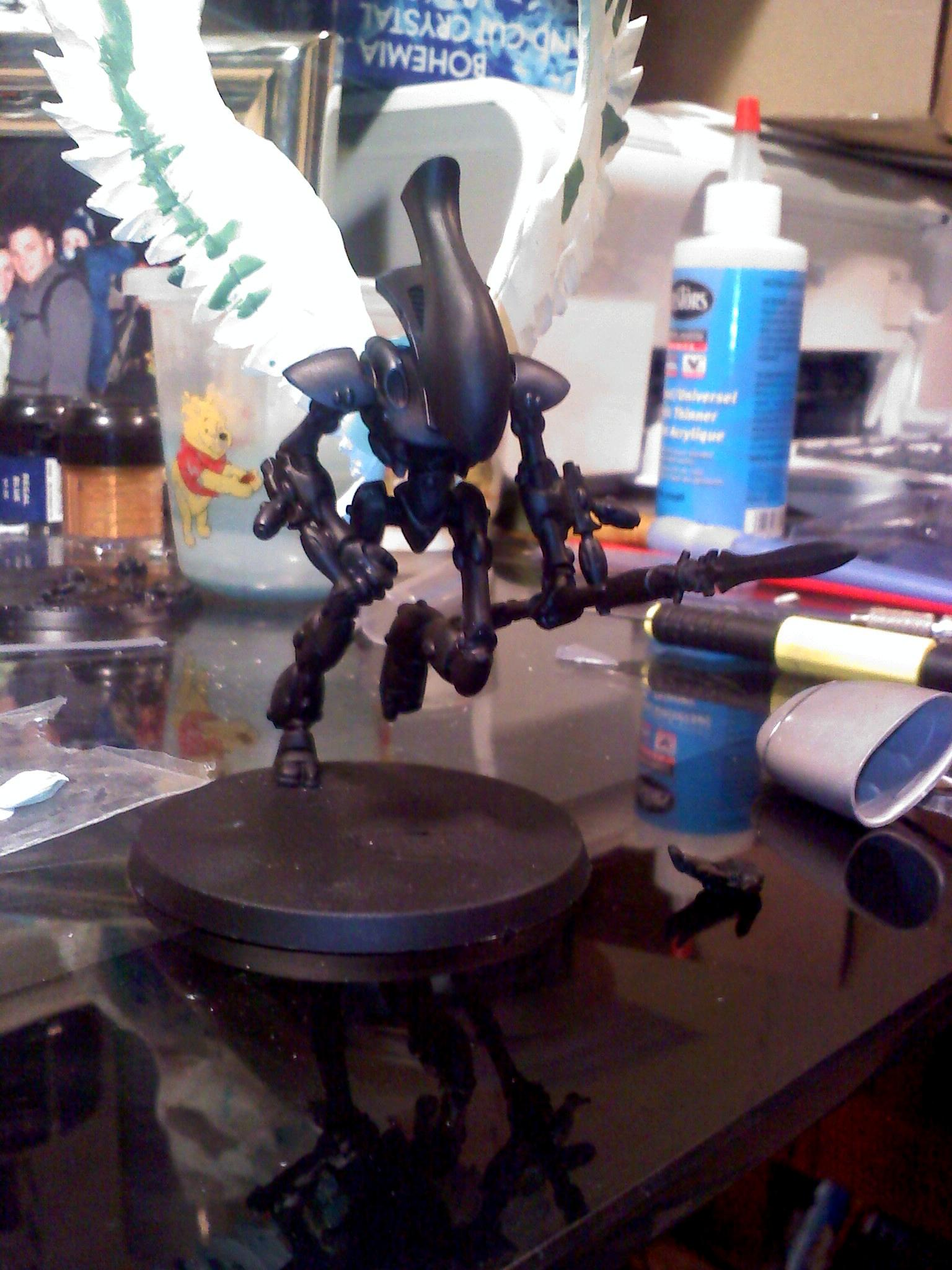Conversion, Eldar, Scratch Build, Swooping Hawks, Work In Progress, Wraithhawk, Wraithlord