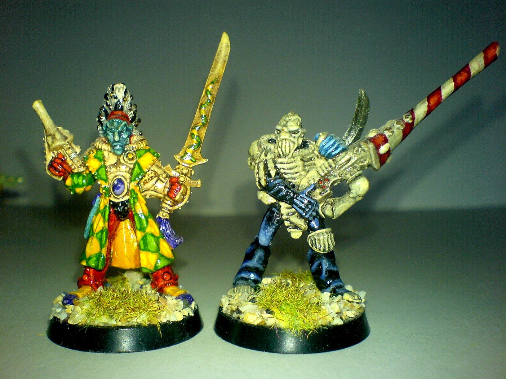 Harlequin Avatar & Death Jester