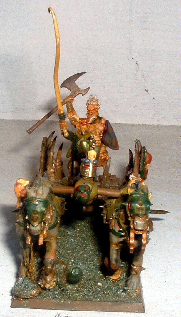Wargor on Chariot