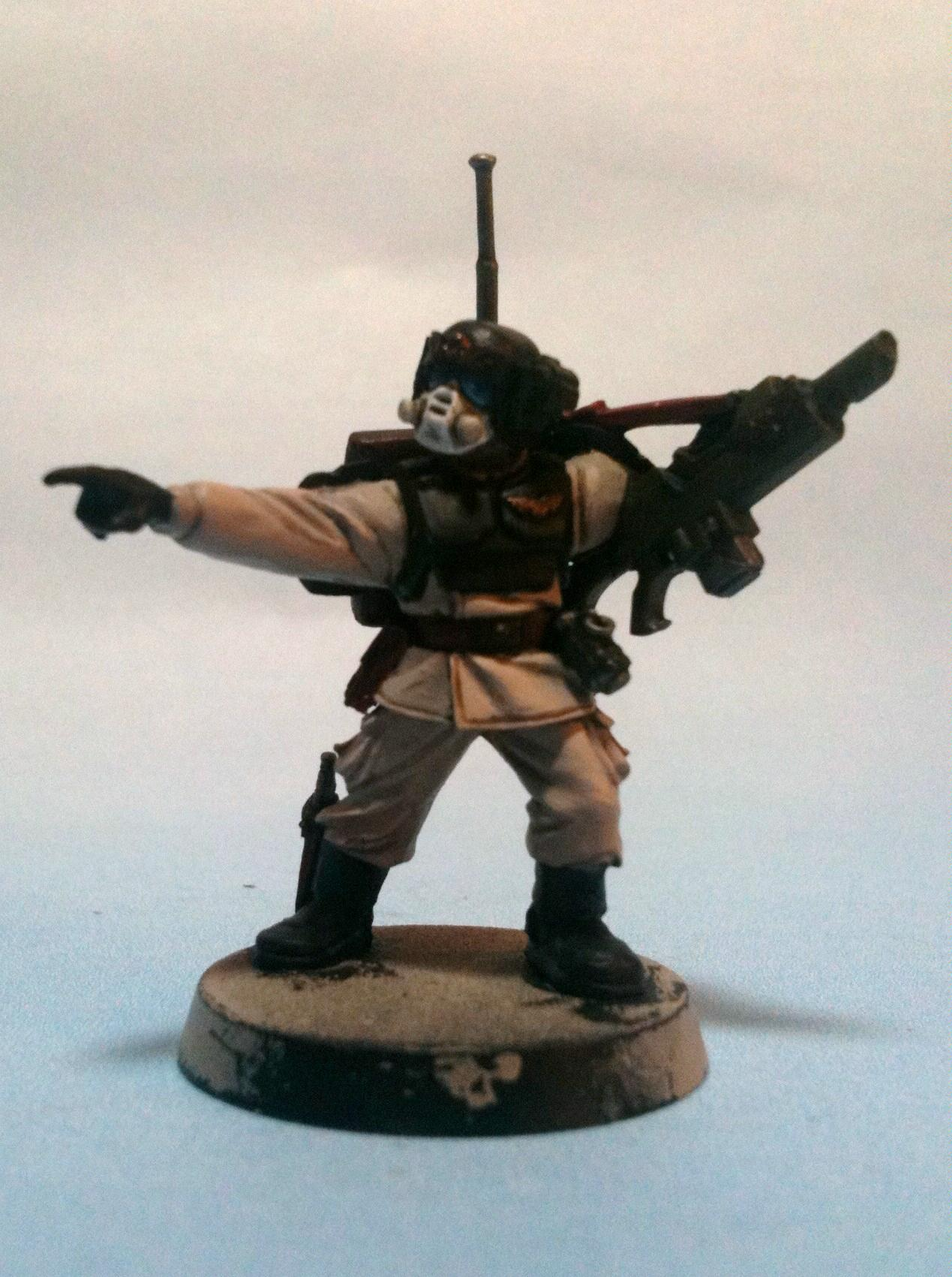 Imperial, Imperial Guard, Soldier, Warhammer 40,000