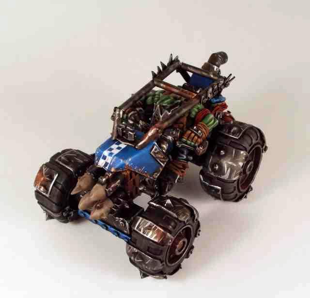 Blue, Buggy, Conversion, Ork Conversion, Orks, Warhammer 40,000