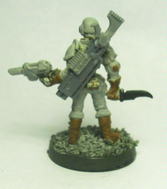 Blurred Photo, Imperial Guard, Warhammer 40,000, Work In Progress