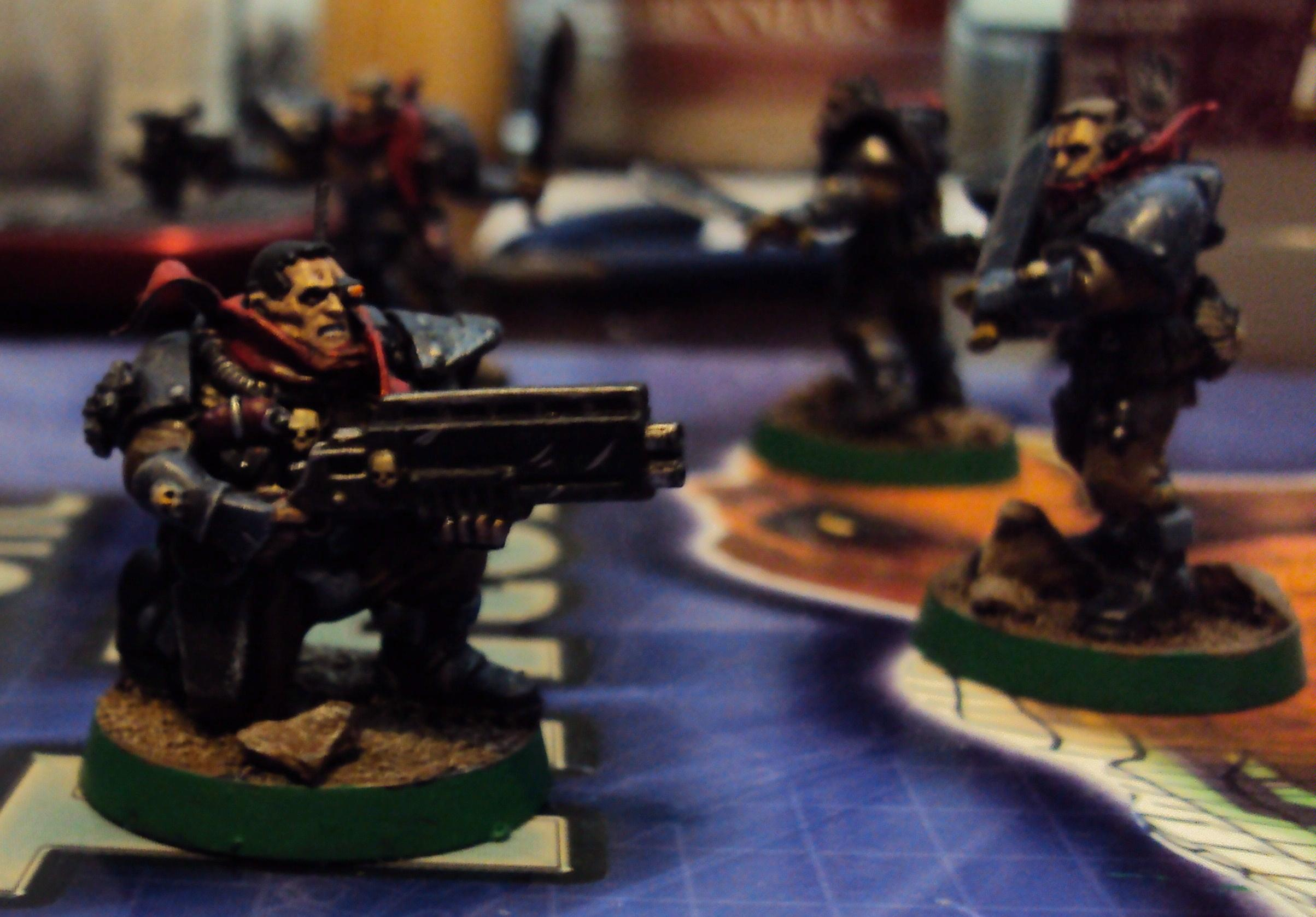 Mad Max, Scouts, Space Marines, Warhammer 40,000
