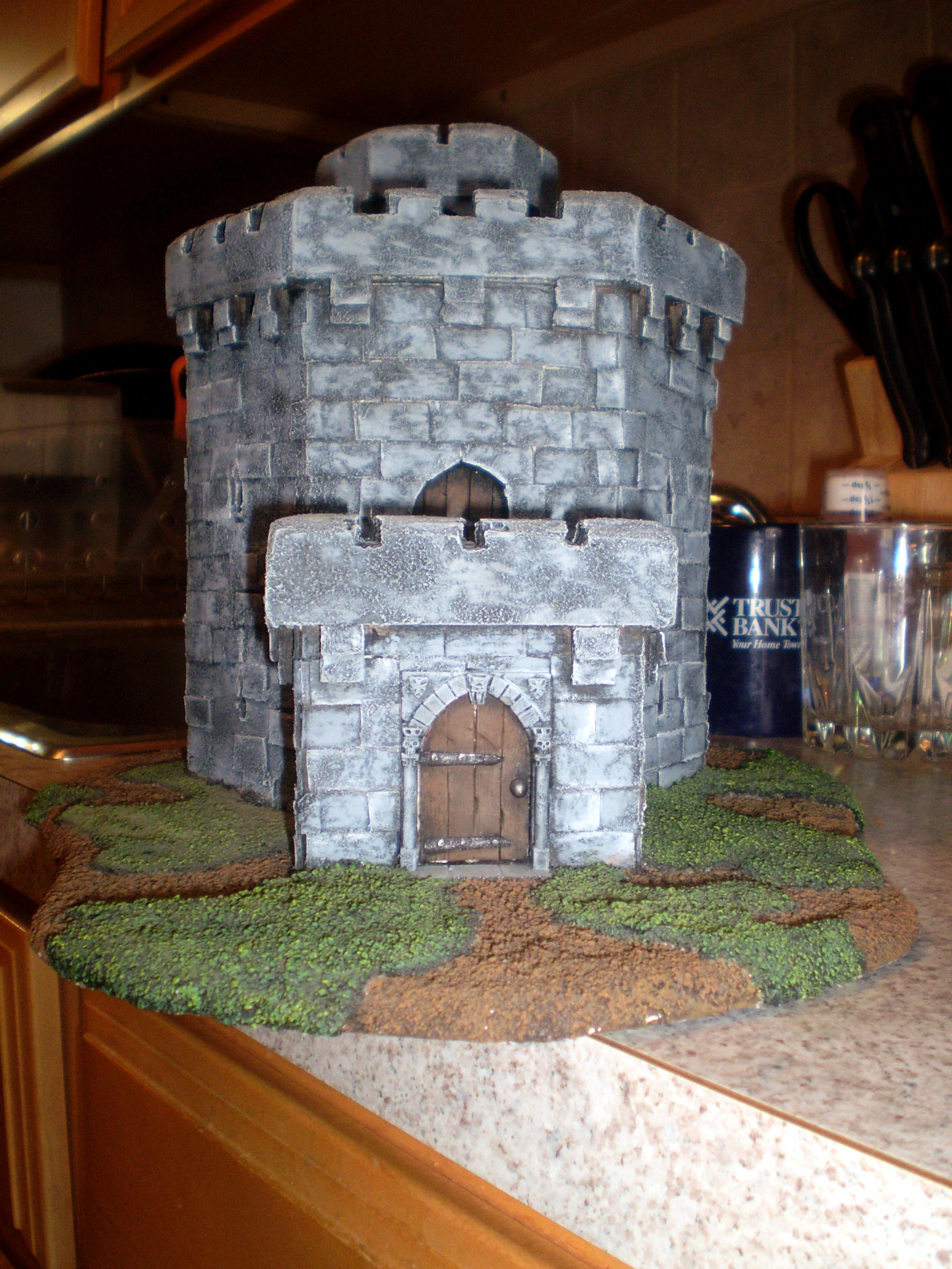 Castle, Keep, Terrain, Tower, Warhammer Fantasy
