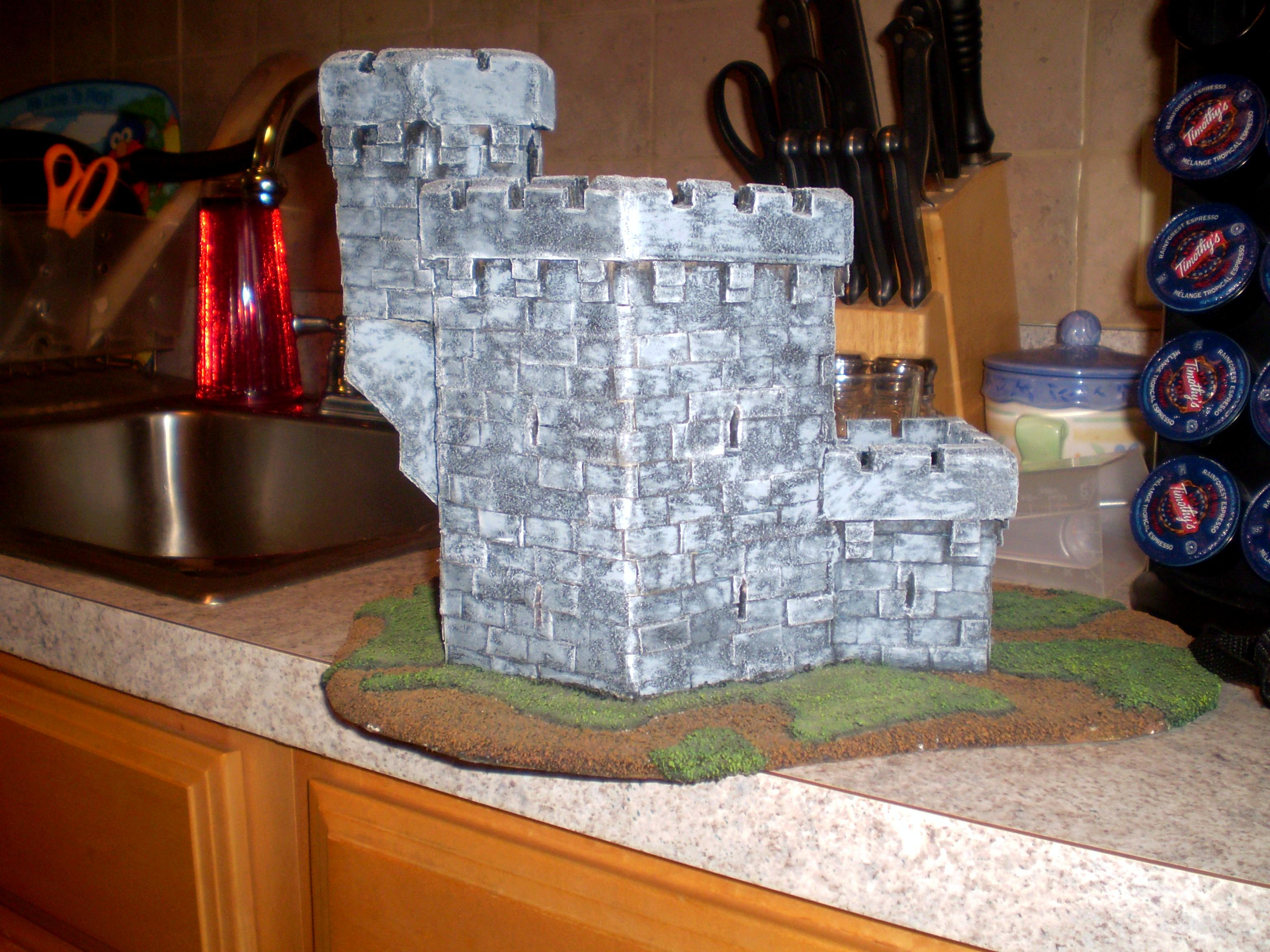 Castle, Scratch Build, Terrain