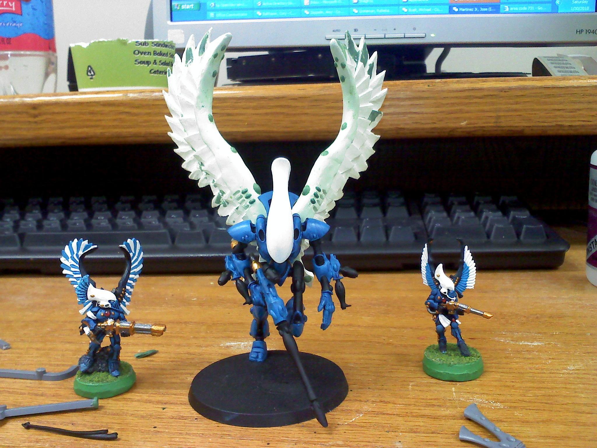 Conversion, Swooping Hawks, Work In Progress, Wraithhawk