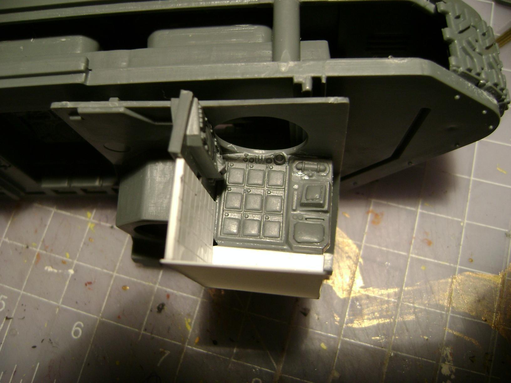 driver hatch/ compartment