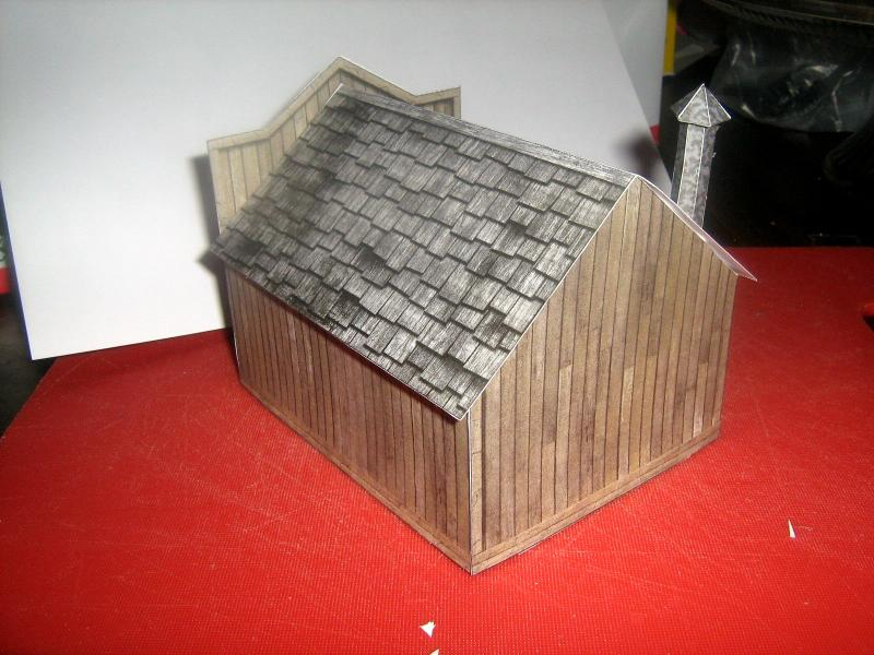 Cardstock, Fat Dragon Games, Paper, Terrain, Western - Back