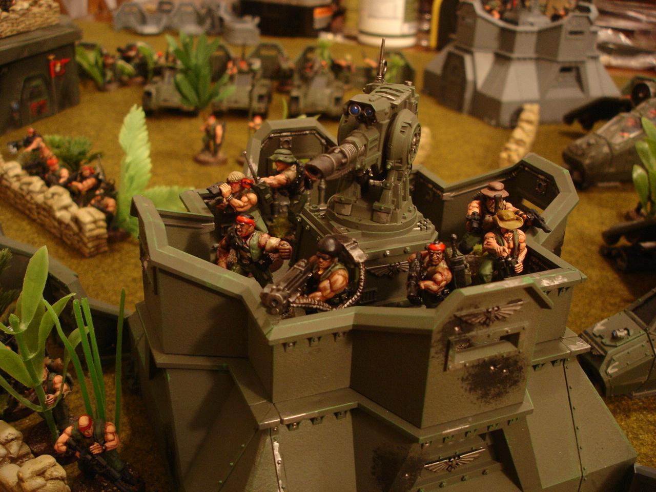Bastion, Catachan, Imperial Guard, Planetstrike, Warhammer 40,000, Warhammer Fantasy