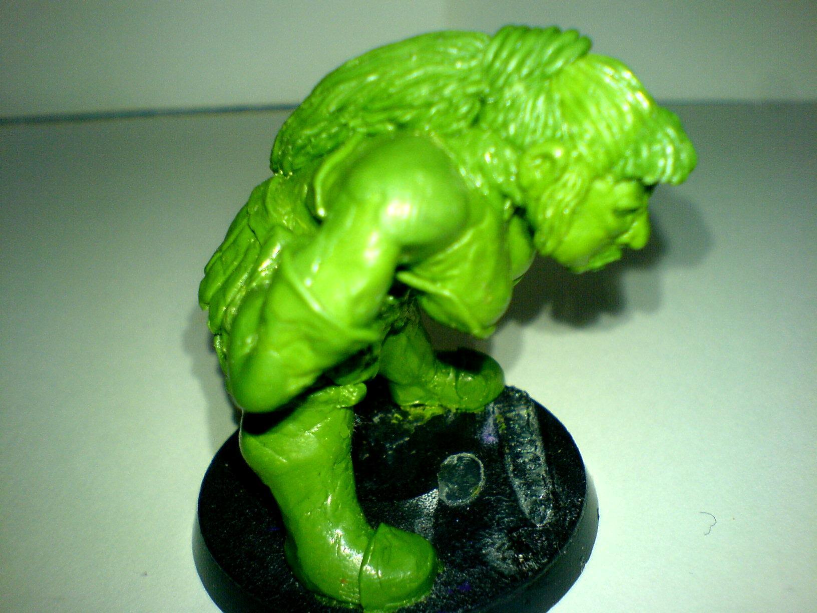 Blood Bowl Ogre Ogress Snotlings Greenstuff Scuplts Sculpt Scratch
