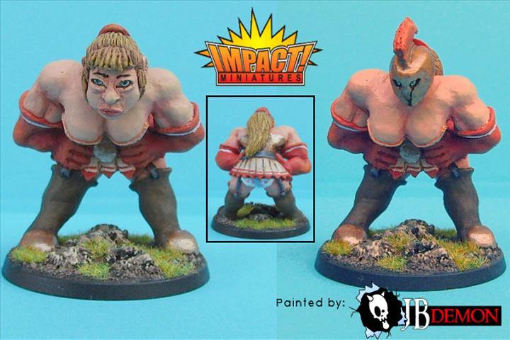 Blood Bowl Ogress