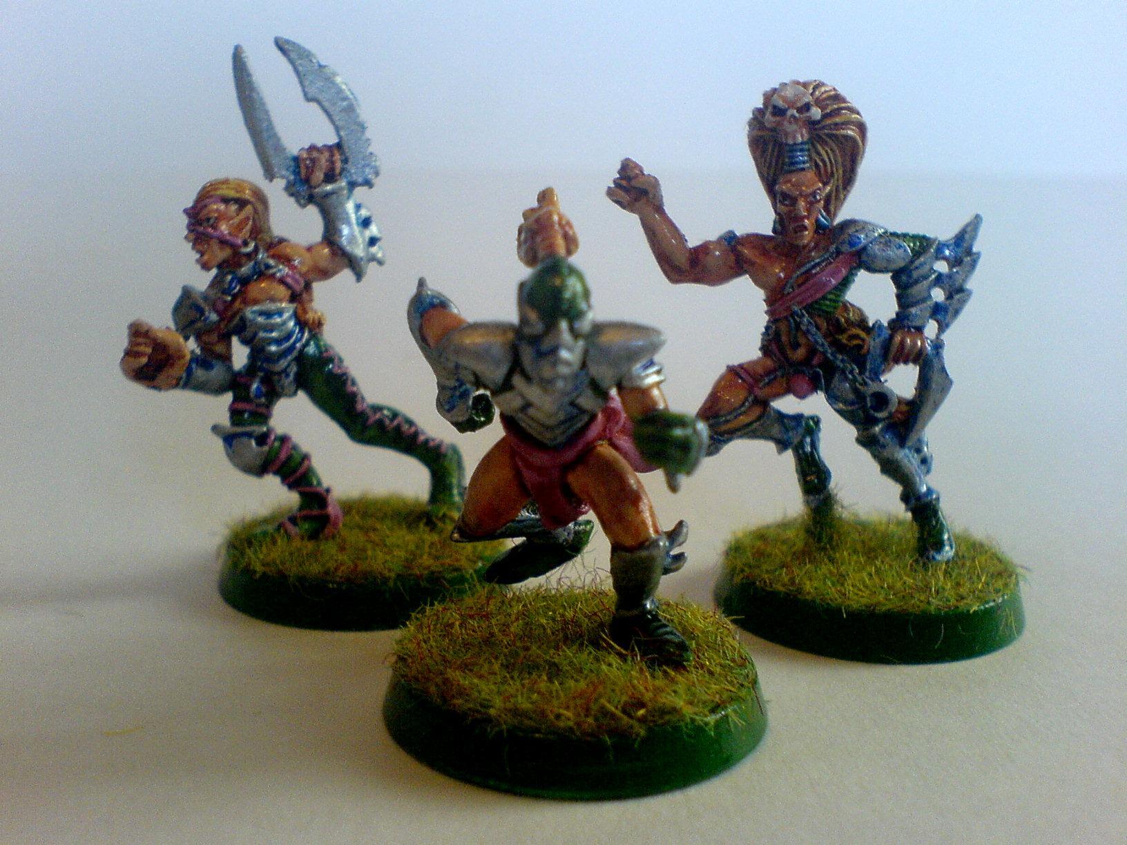 Wood Elf Blood Bowl Team