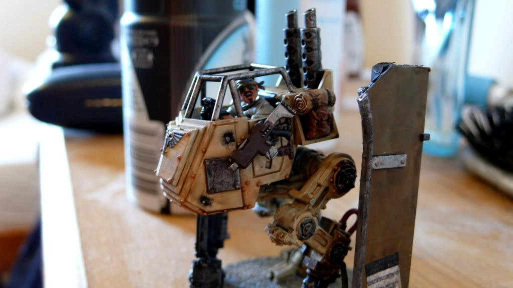 Imperial Guard, Pilot, Sentinel, Warhammer 40,000