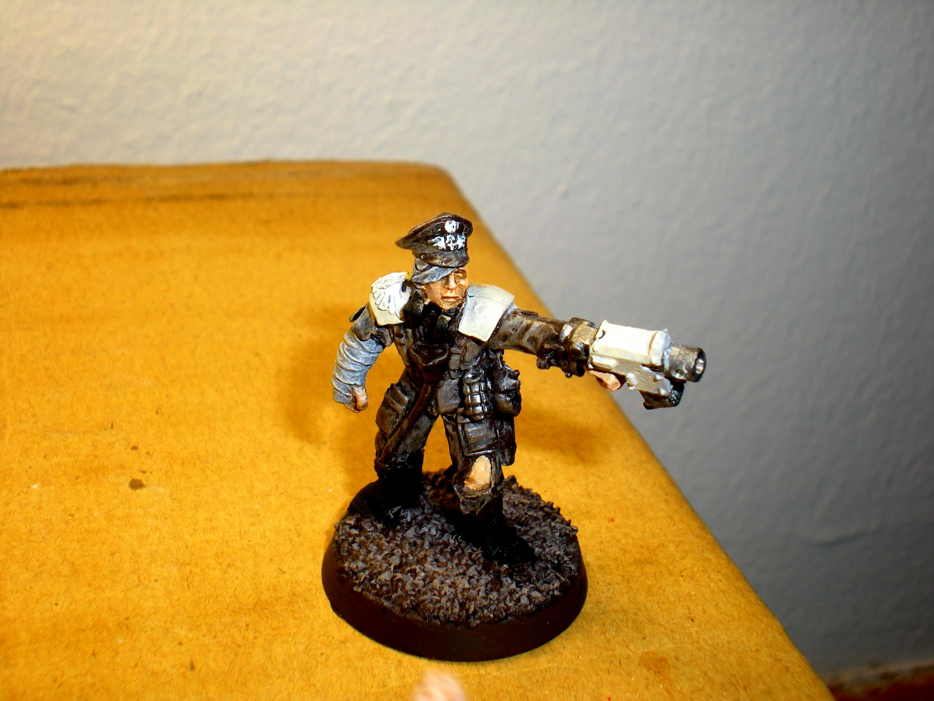 Bolt Pistol, Imperial Guard, Infantry, Warhammer 40,000, Wounded