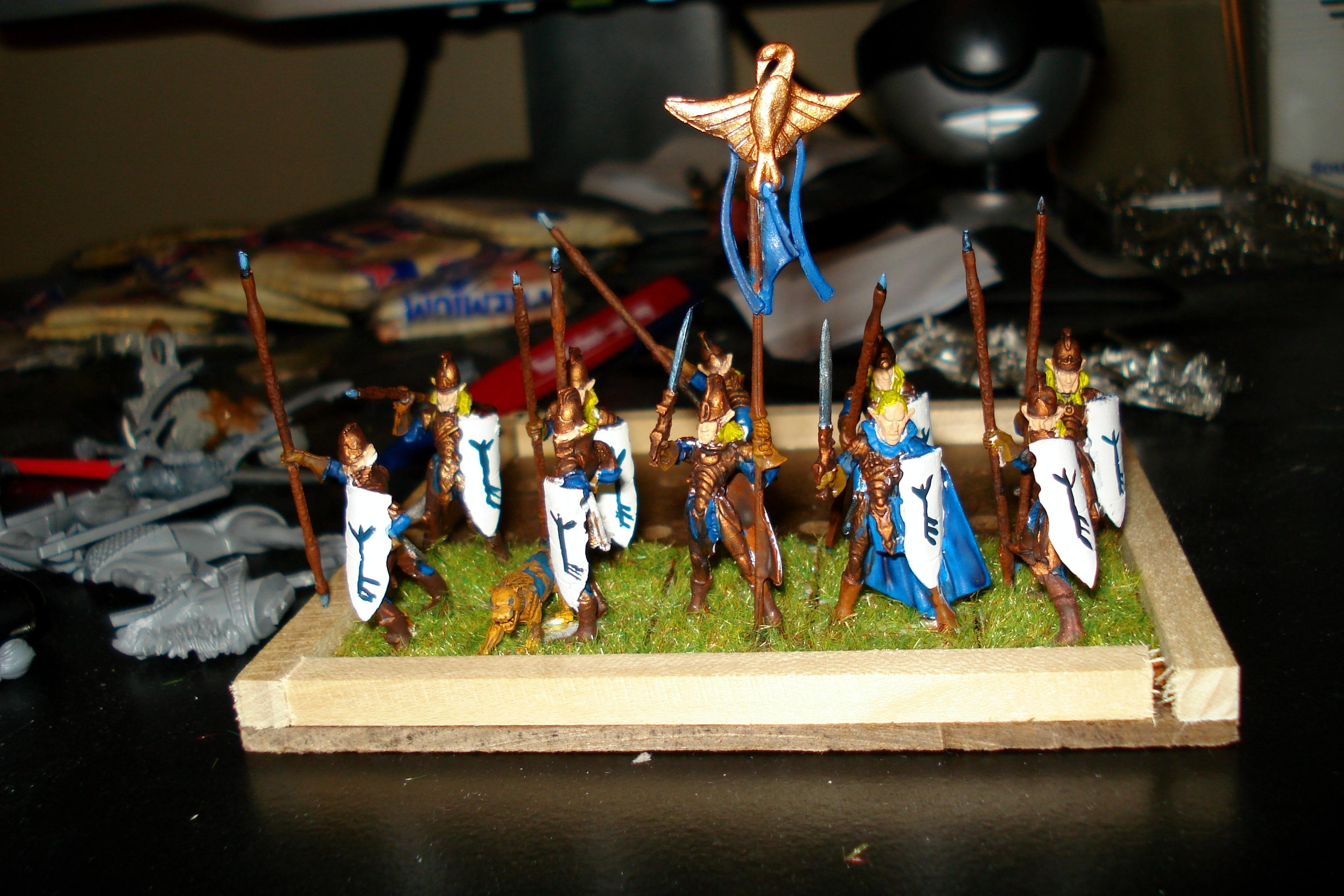finished spearman command troop