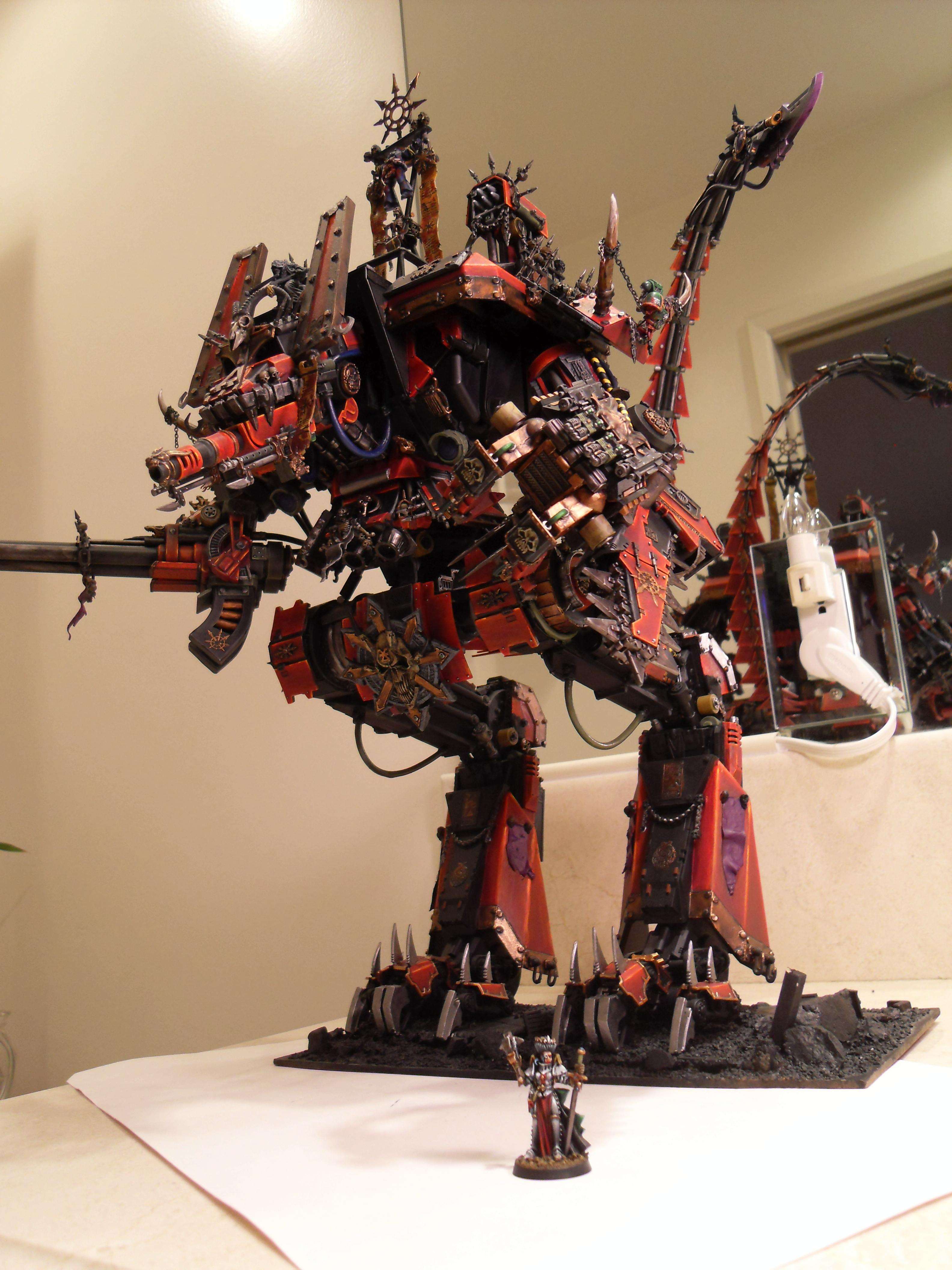Apocalypse, Awesome, Chaos, Khorne, Warhammer 40,000, Work In Progress