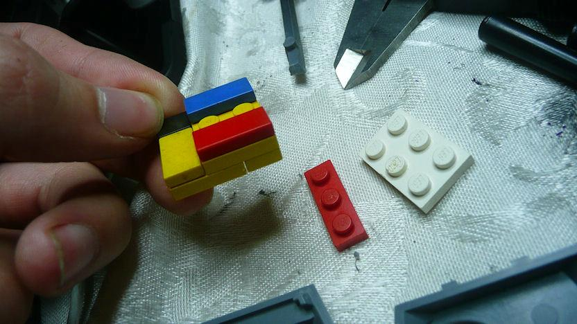 Legos, Predator, Space Marines