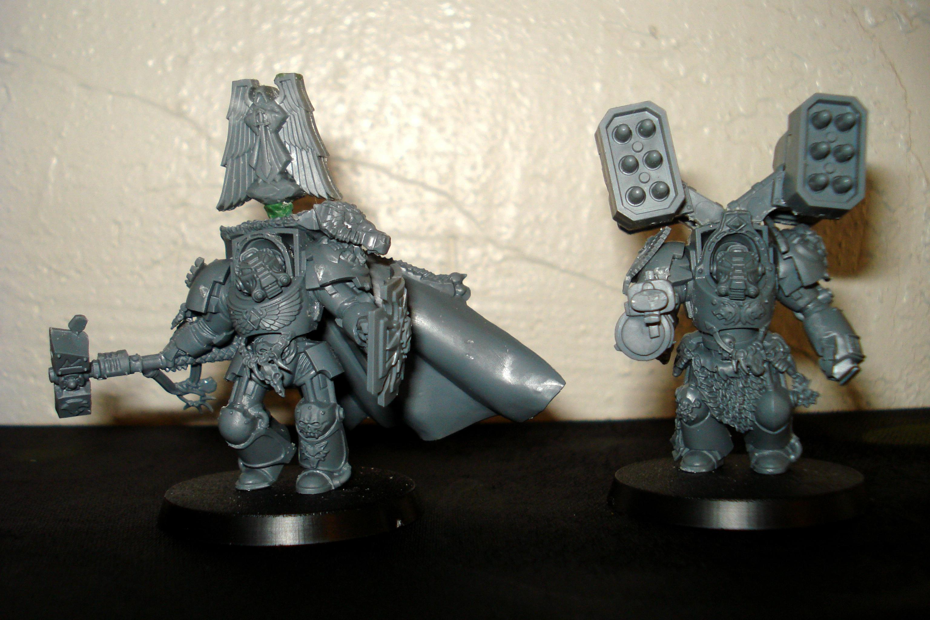 Conversion, Dark Angels, Space Marines, Terminator Armor