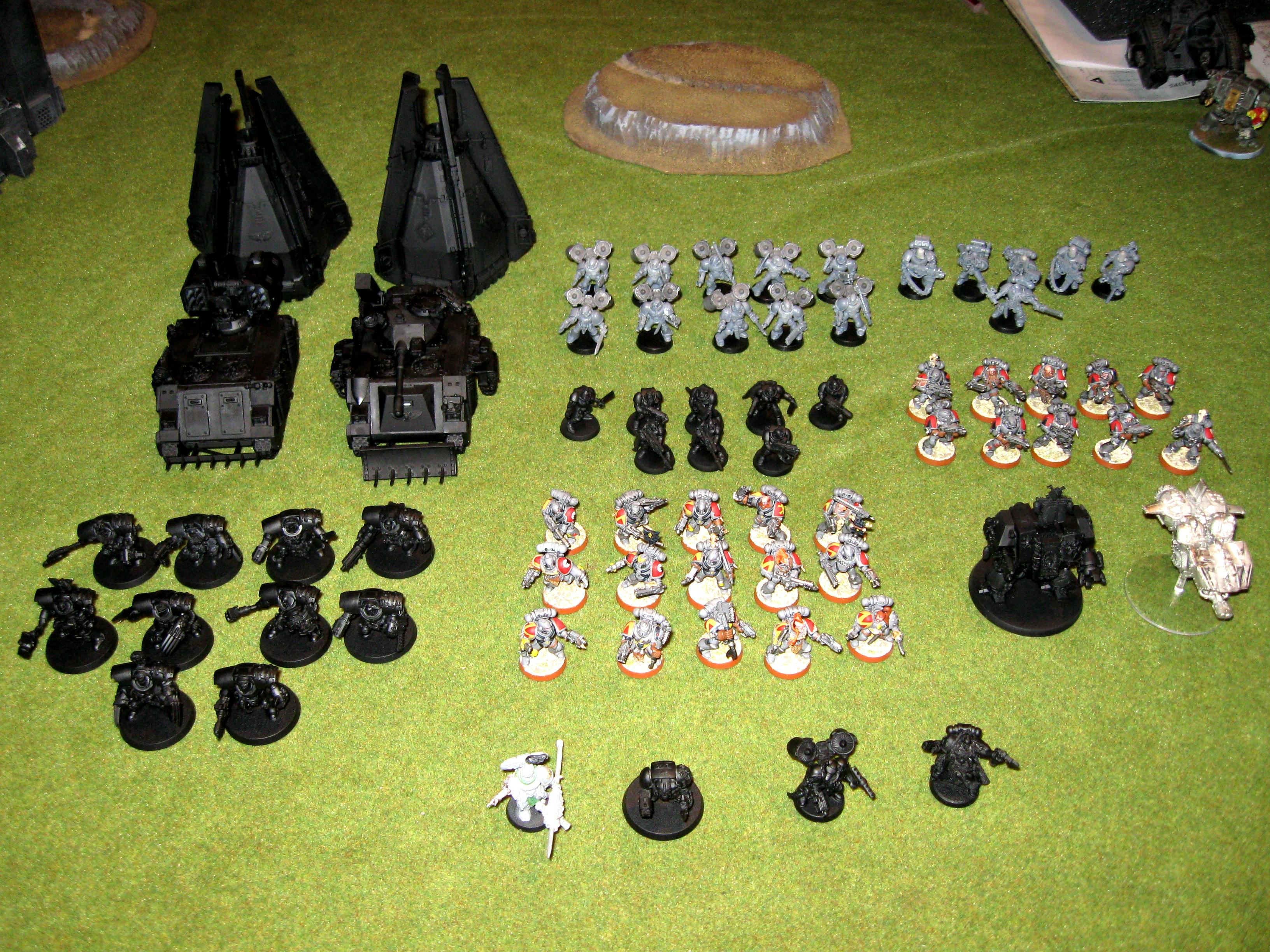 Pre Heresy, Space Marines, Space Wolves